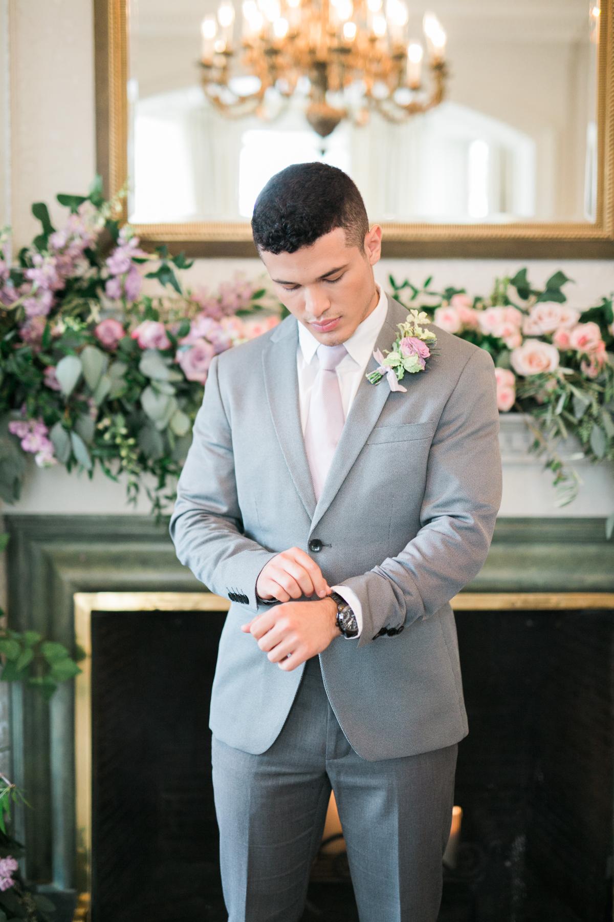 August In Bloom - Groom - Fairytale Wedding (Wedluxe)