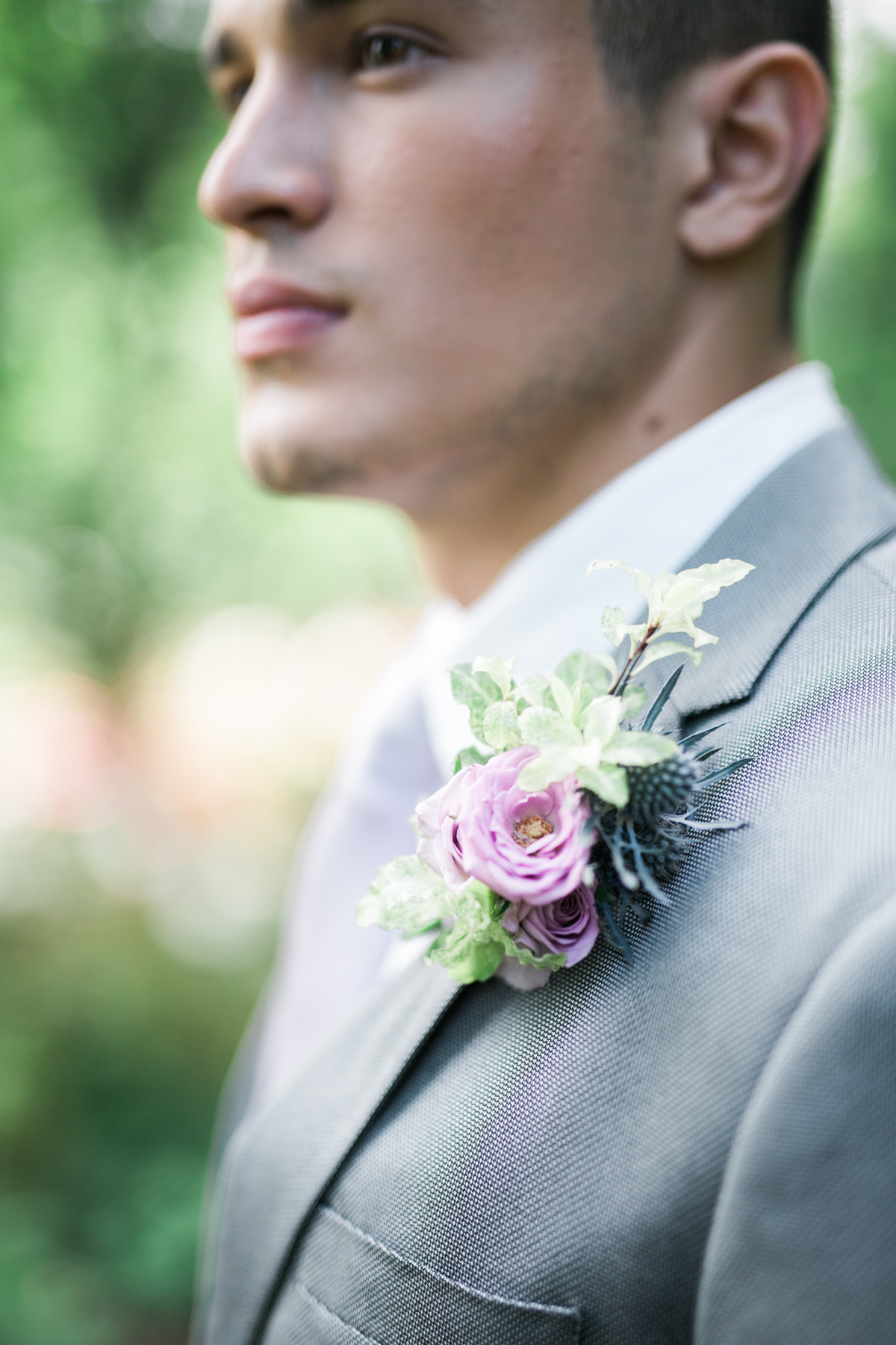 August In Bloom - Boutonniere - Fairytale Wedding (Wedluxe)