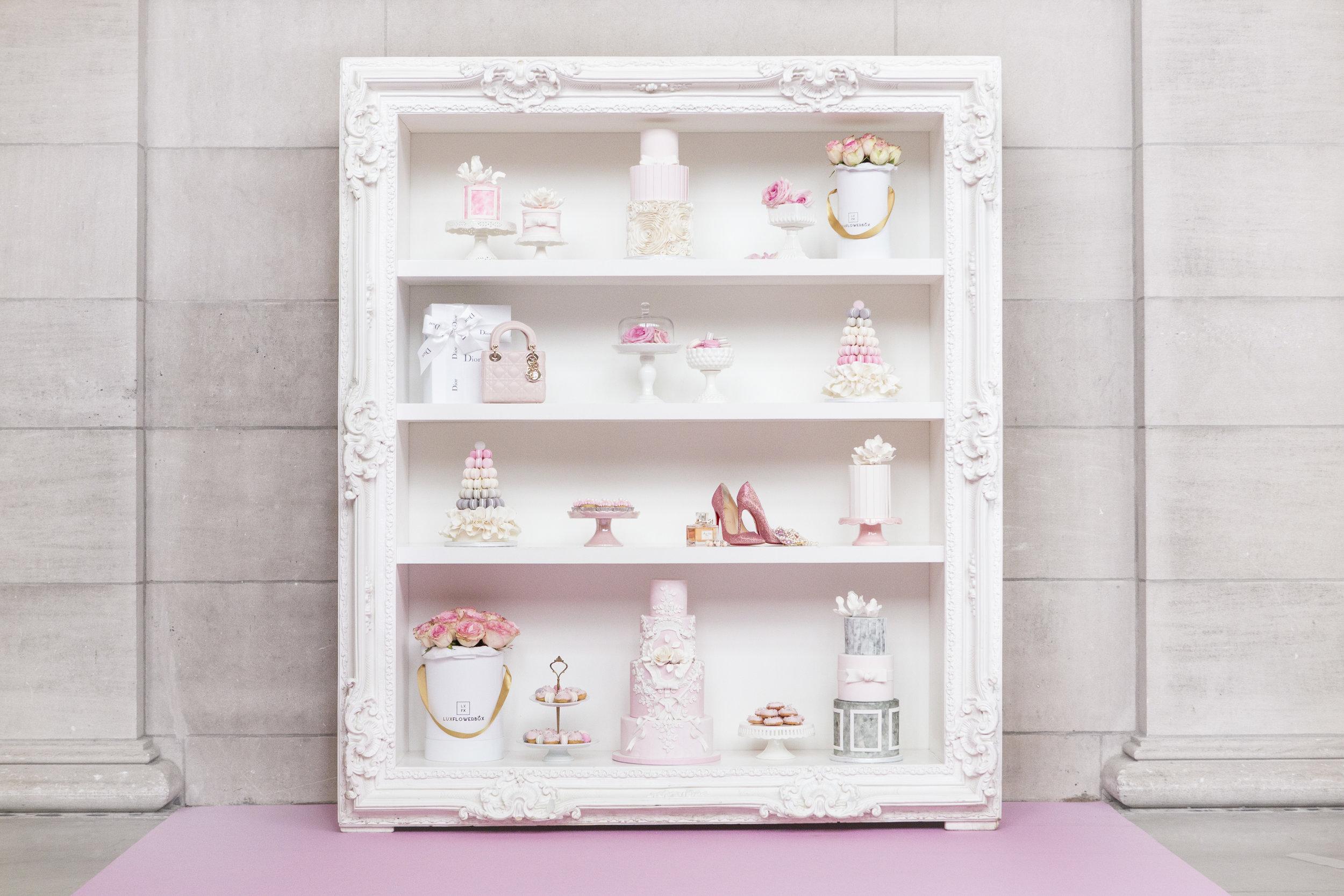 August In Bloom - Sweet Shelf - Dior Darling (Wedluxe)