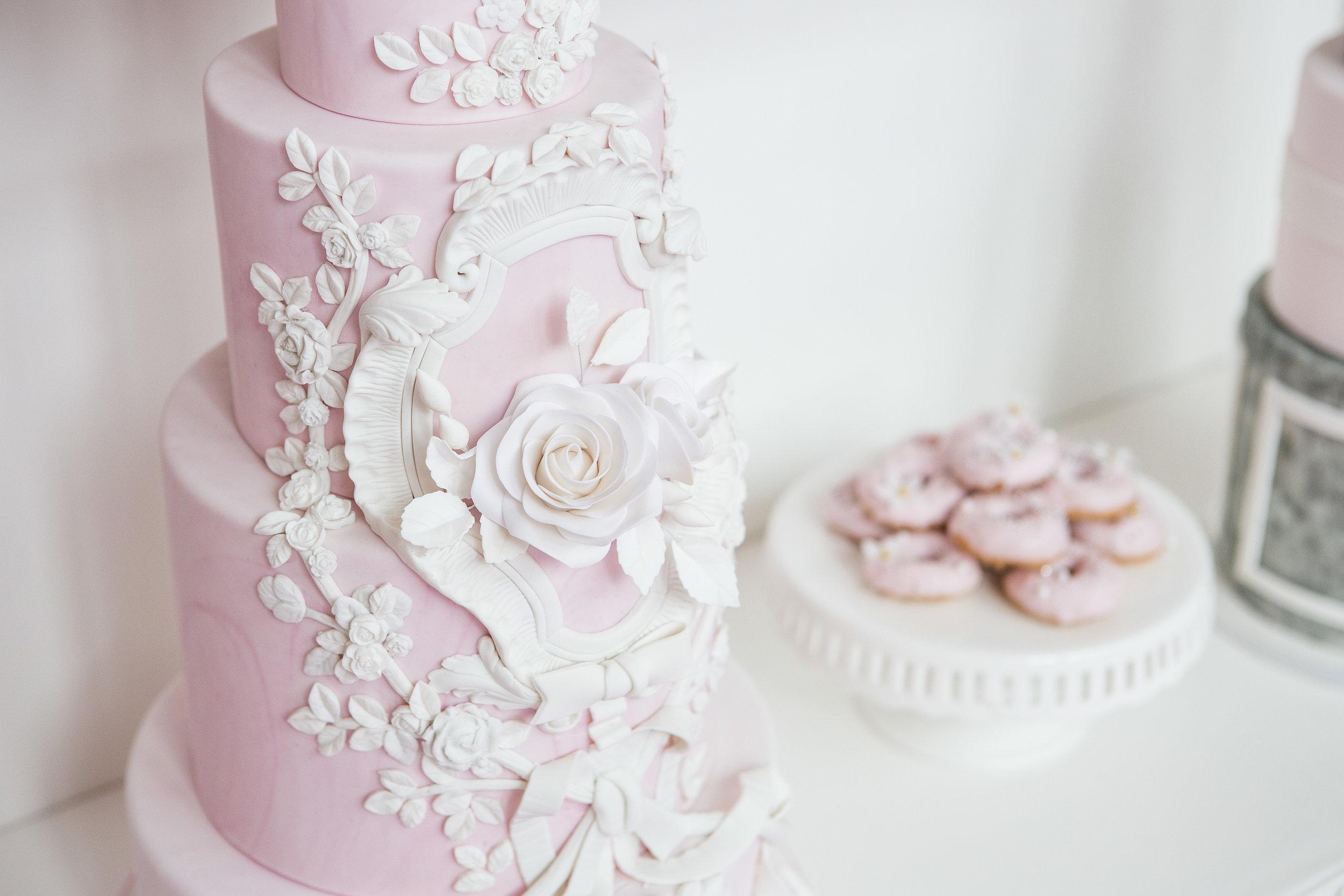 August In Bloom - Pink Cake - Dior Darling (Wedluxe)