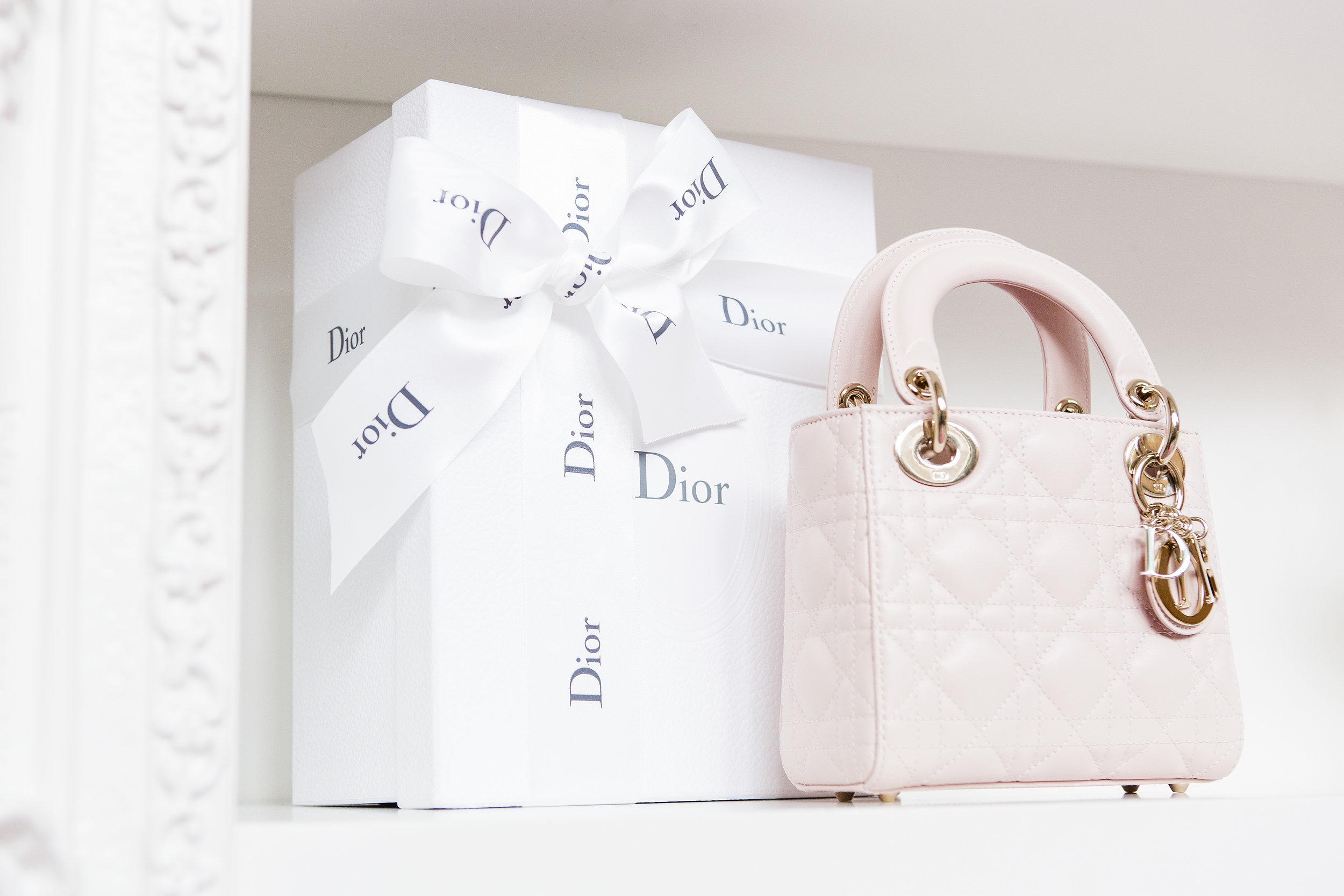 August In Bloom - Dior Purse - Dior Darling (Wedluxe)