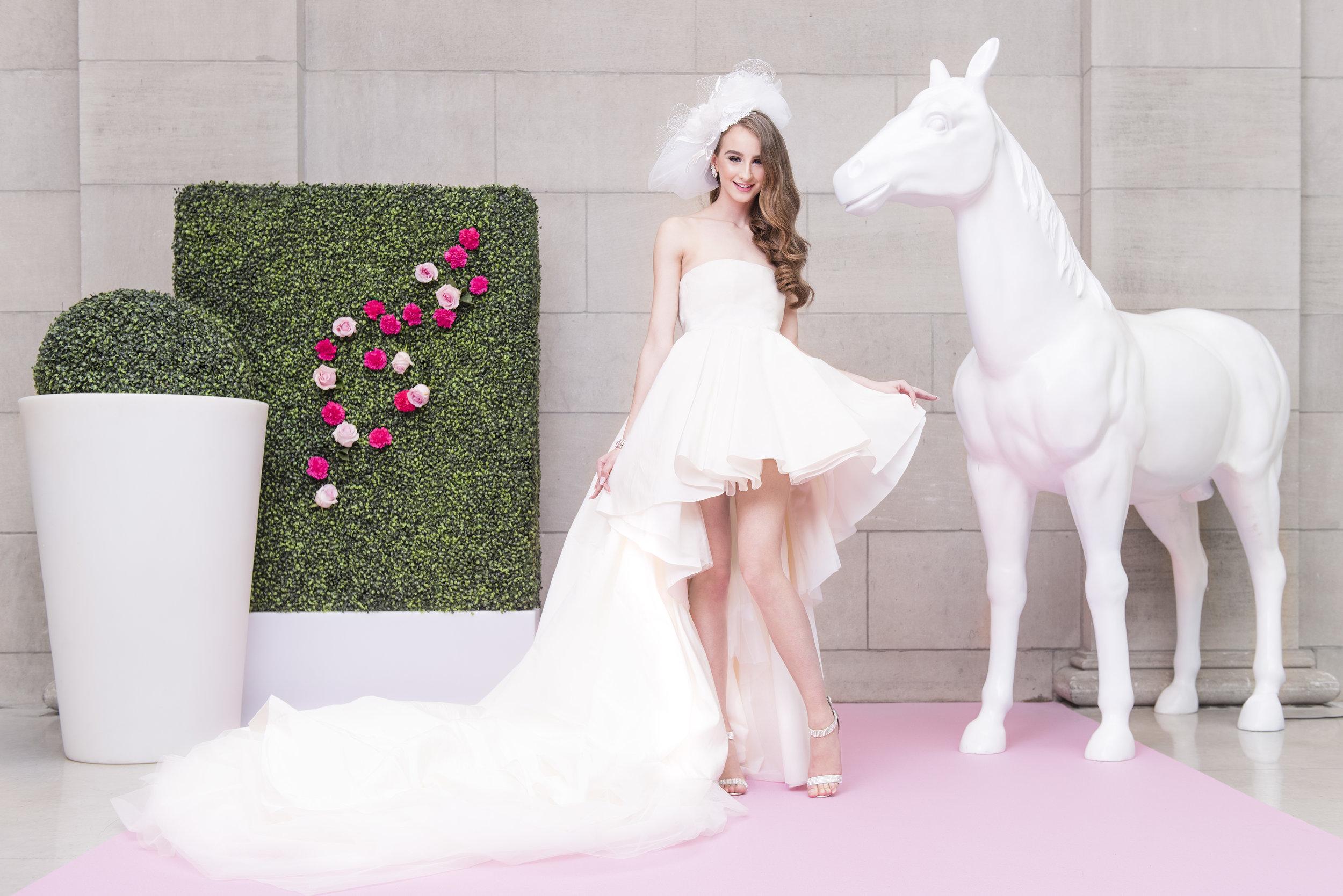 August In Bloom - Whimsical Bride - Dior Darling (Wedluxe)