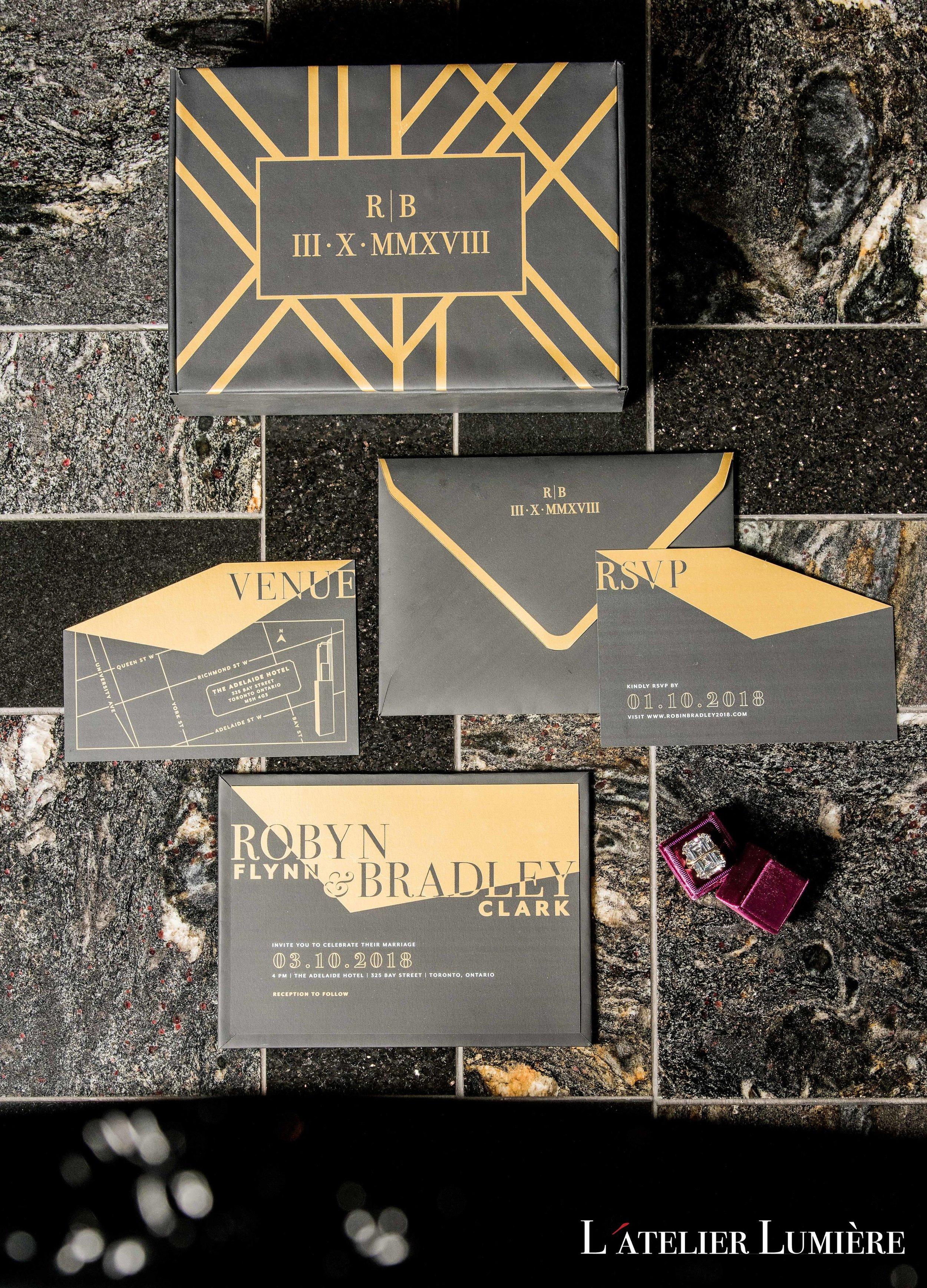 August In Bloom - Invitation suite - Riri (Grace Ormond Wedding)