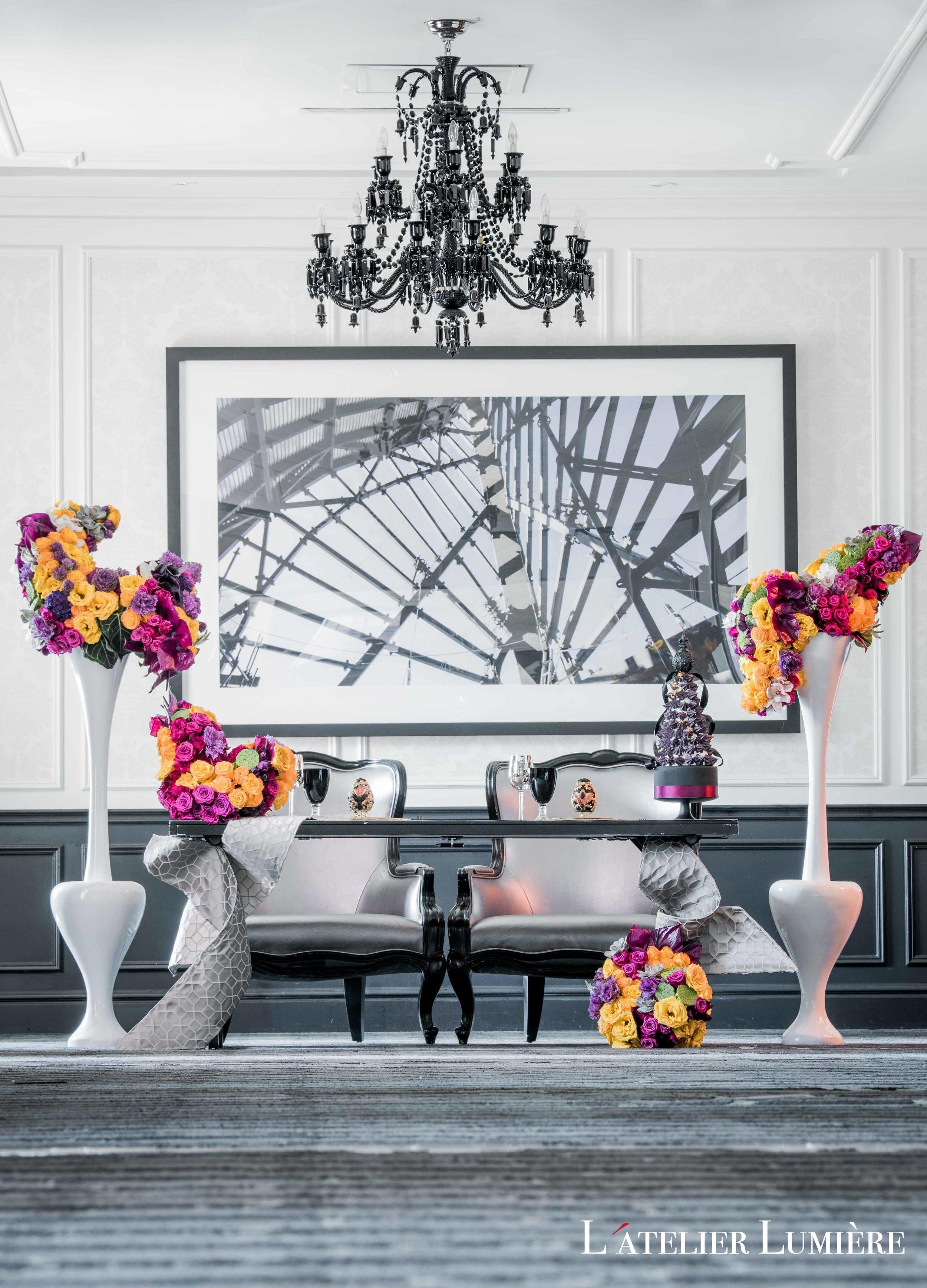 August In Bloom - Dramatic headtable - Riri (Grace Ormond Wedding)