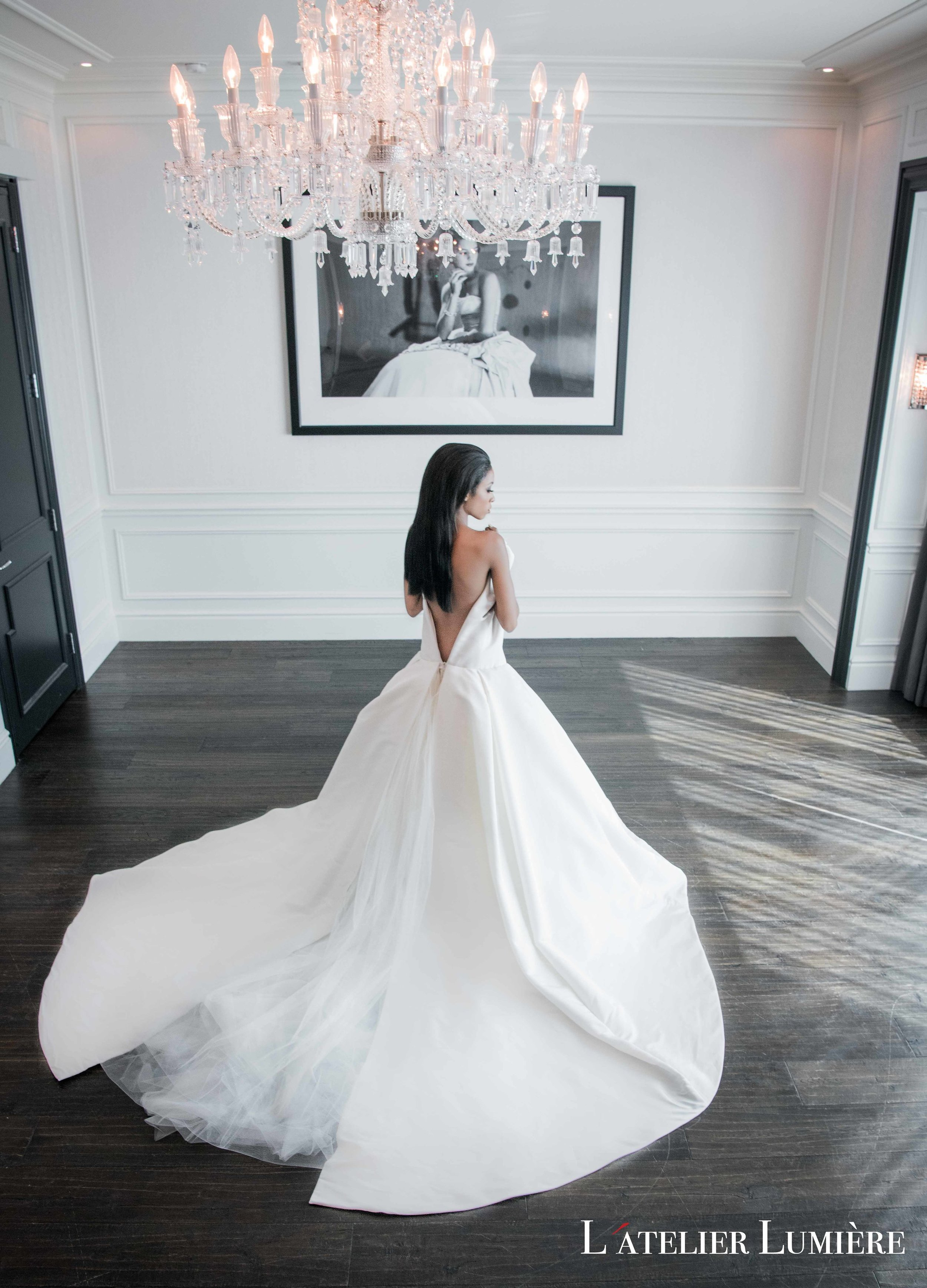 August In Bloom - Bride at reception - Riri (Grace Ormond Wedding)