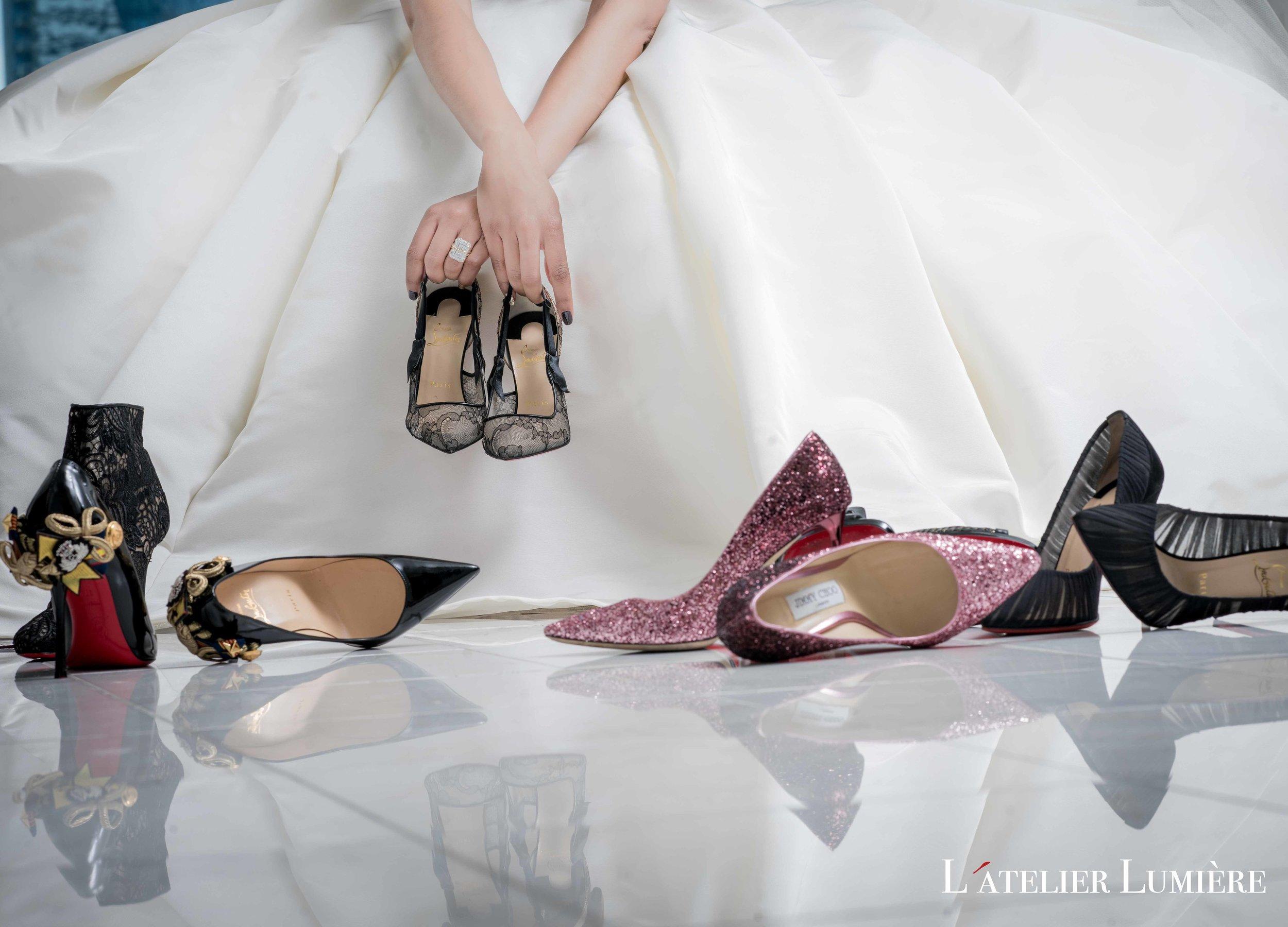 August In Bloom - Designer shoes - Riri (Grace Ormond Wedding)