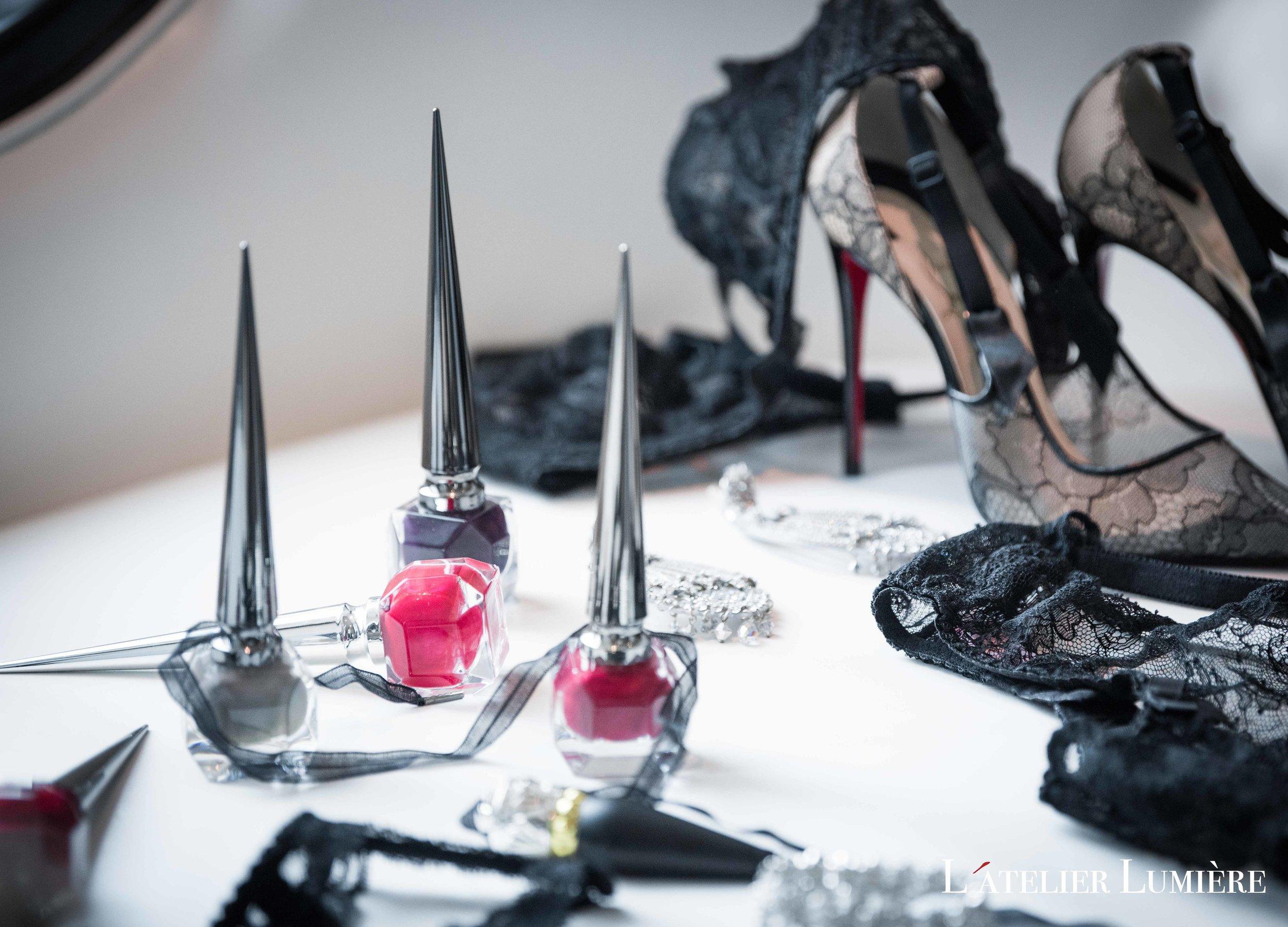 August In Bloom - Louboutin nail polish - Riri (Grace Ormond Wedding)