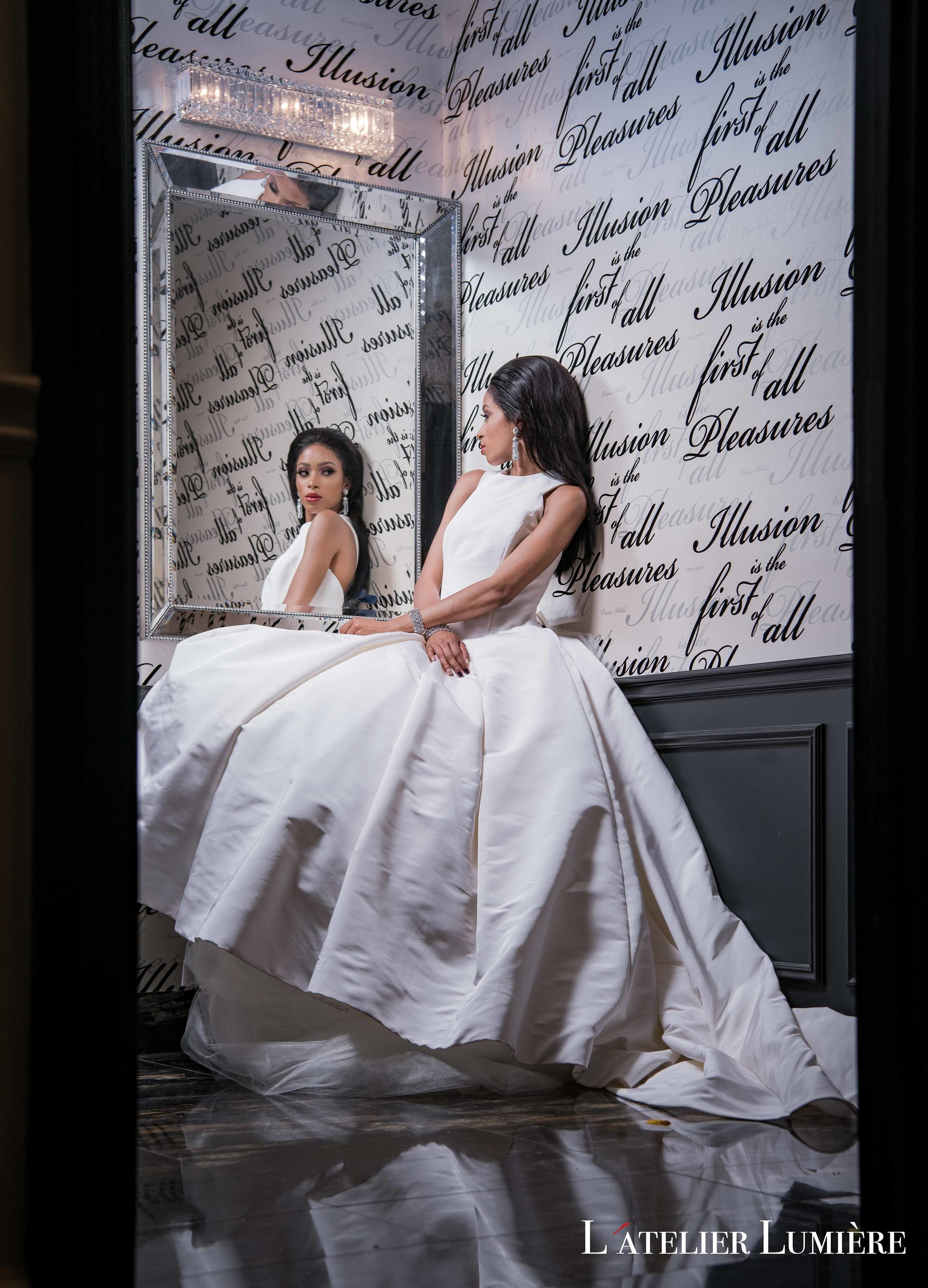 August In Bloom - Glam bride - Riri (Grace Ormond Wedding)