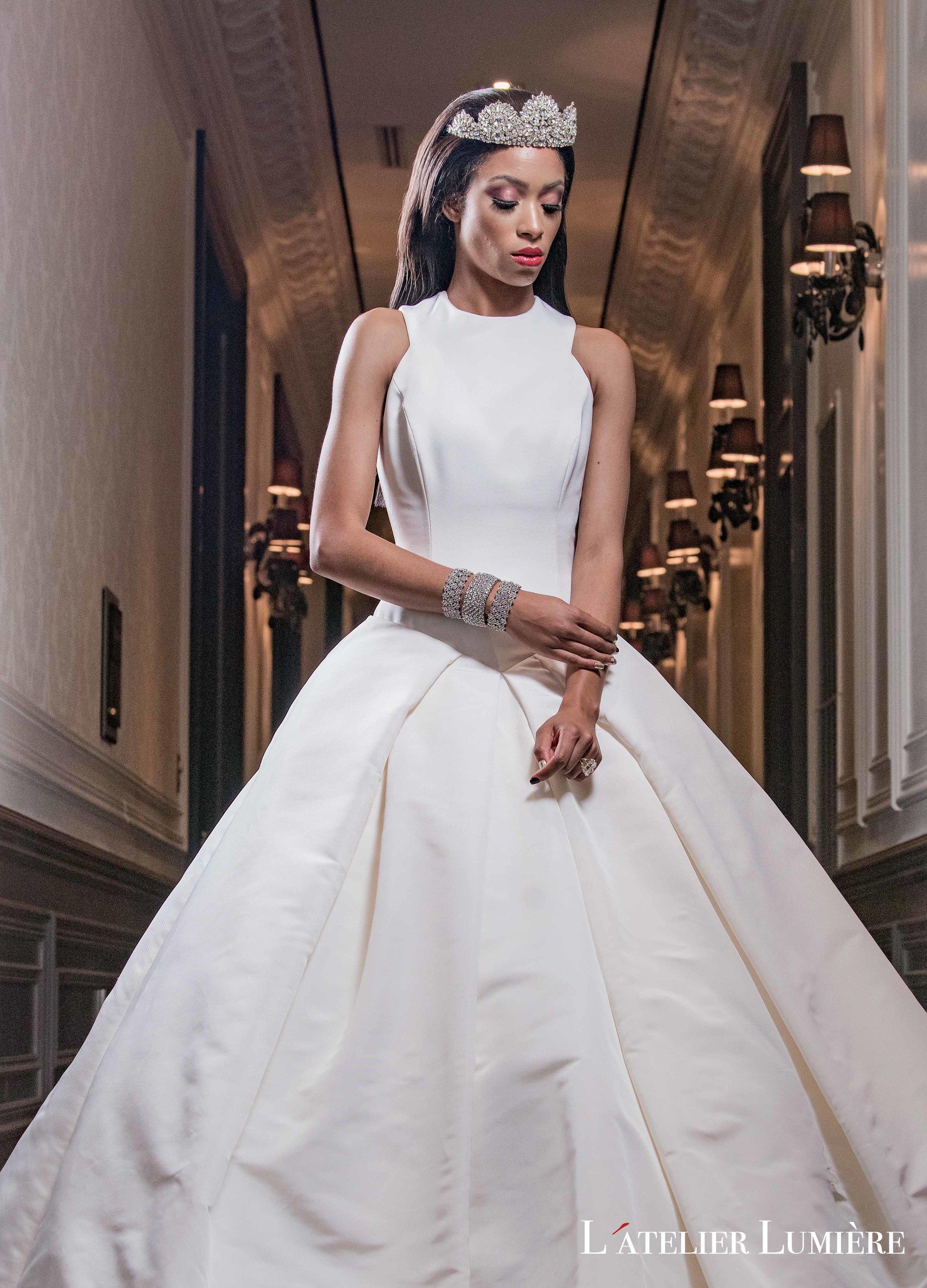 August In Bloom - Rihanna-inspired bride look - Riri (Grace Ormond Wedding)