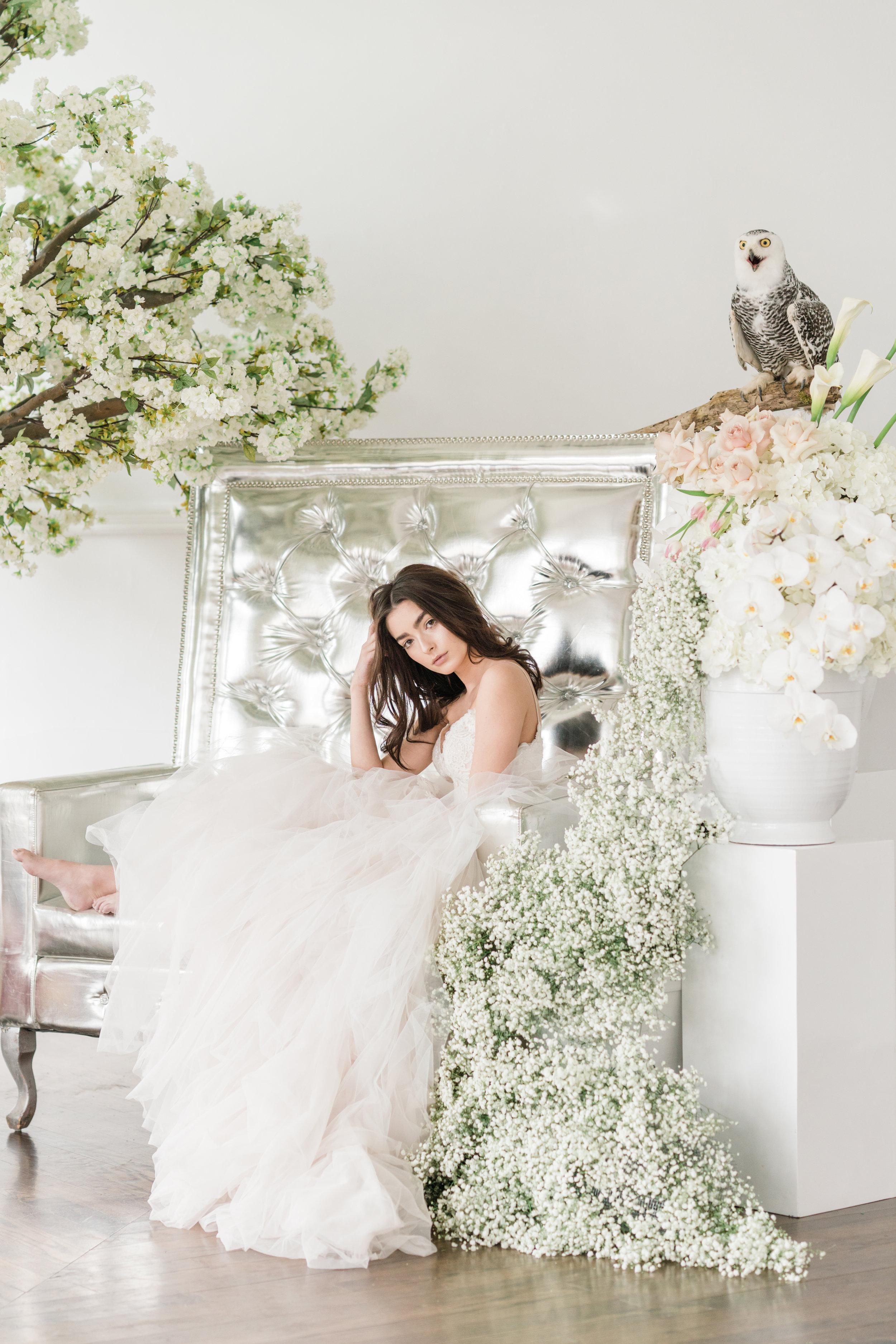 August In Bloom - Fantasy Bride - Serene Dream (Wedluxe)