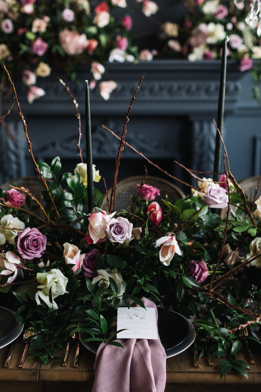 August In Bloom - Tableware and menu - Magnolia Dreams (The Bridal Affair)