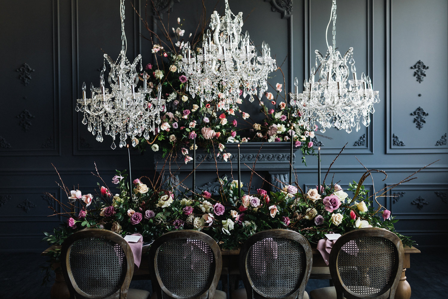 August In Bloom - Fairytale tablescape - Magnolia Dreams (The Bridal Affair)