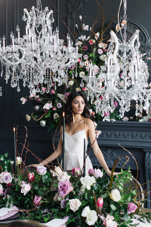 August In Bloom - Bride at reception - Magnolia Dreams (The Bridal Affair)