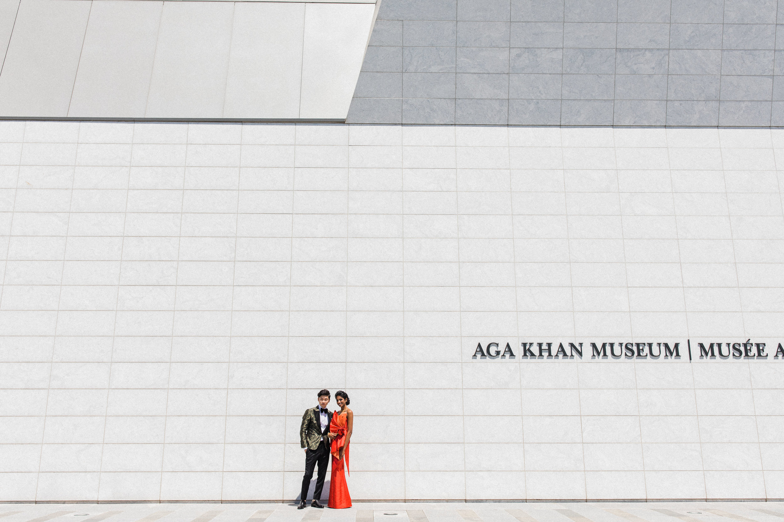 August In Bloom - Couple at Aga Khan - Scarlet Sweetheart (Lavish Dulhan)