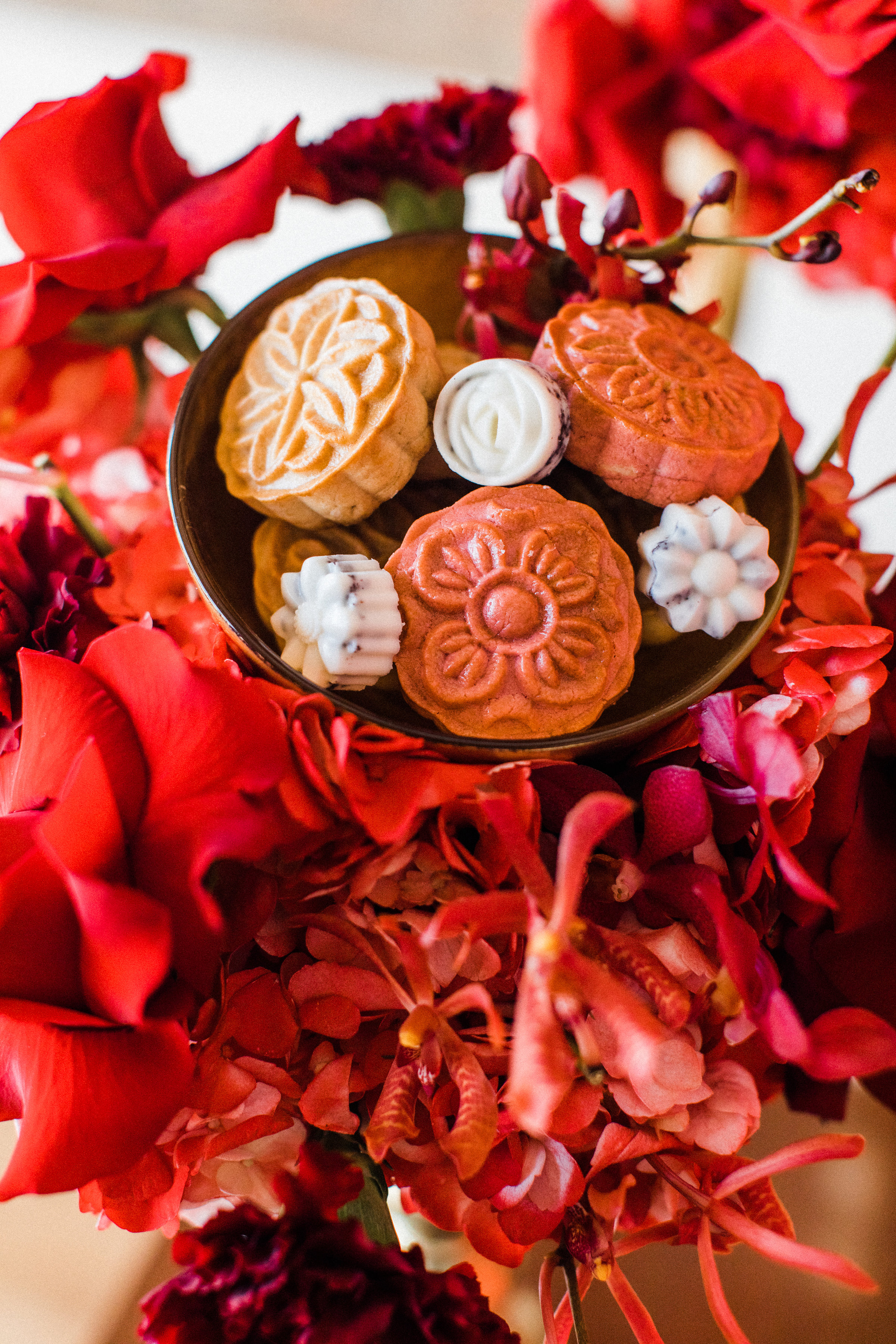 August In Bloom - Desserts - Dessert bowl - Scarlet Sweetheart (Lavish Dulhan)