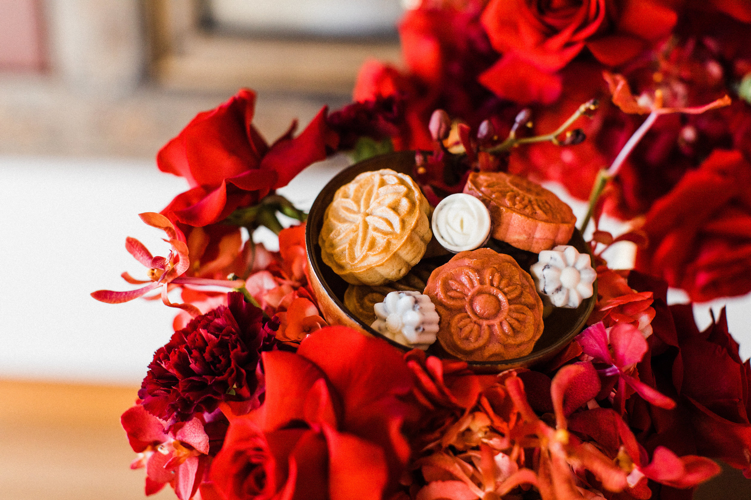 August In Bloom - Desserts - Scarlet Sweetheart (Lavish Dulhan)