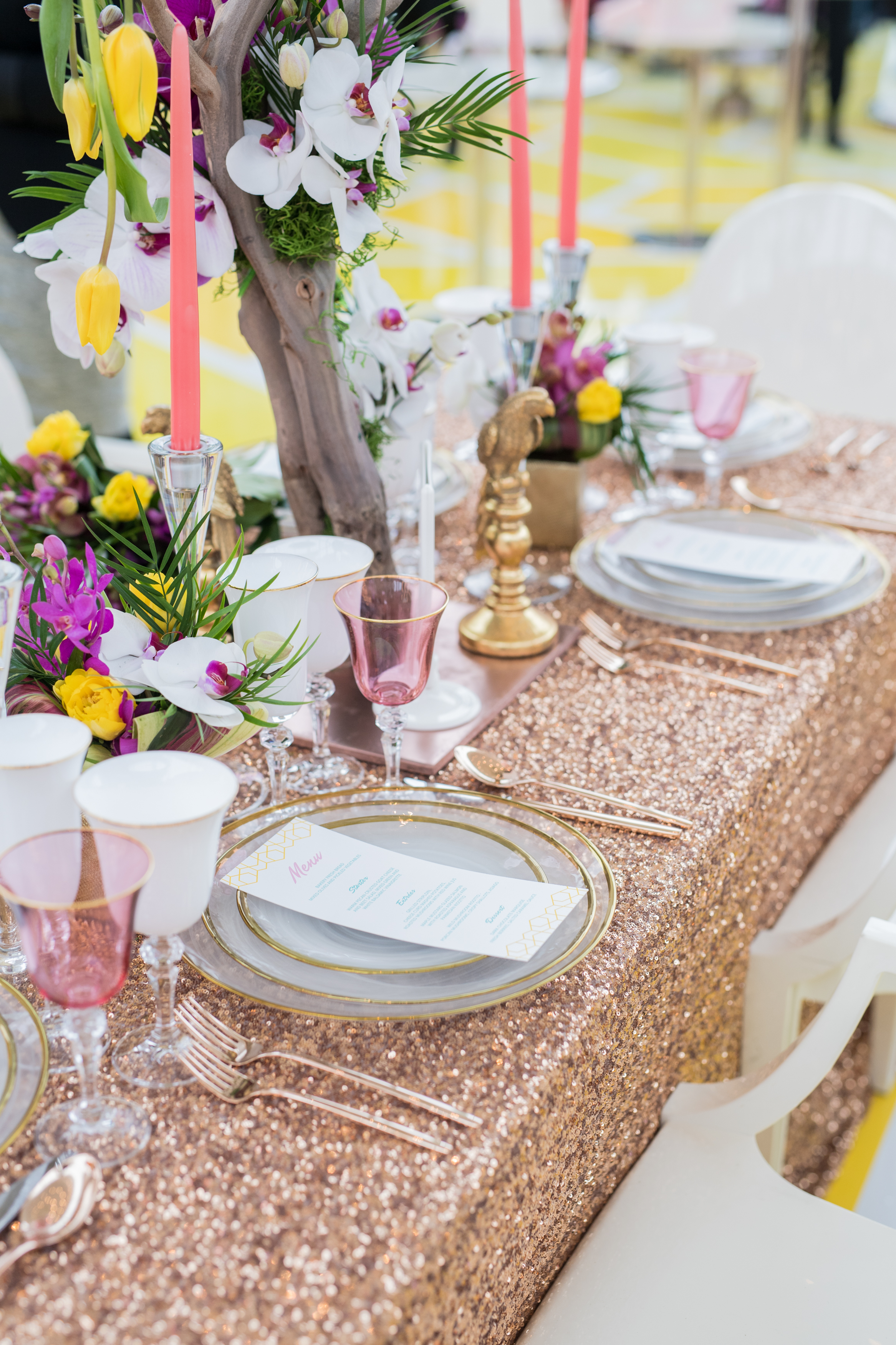 August In Bloom - Tableware - #SQ1Bridal (Square One Shopping Centre)