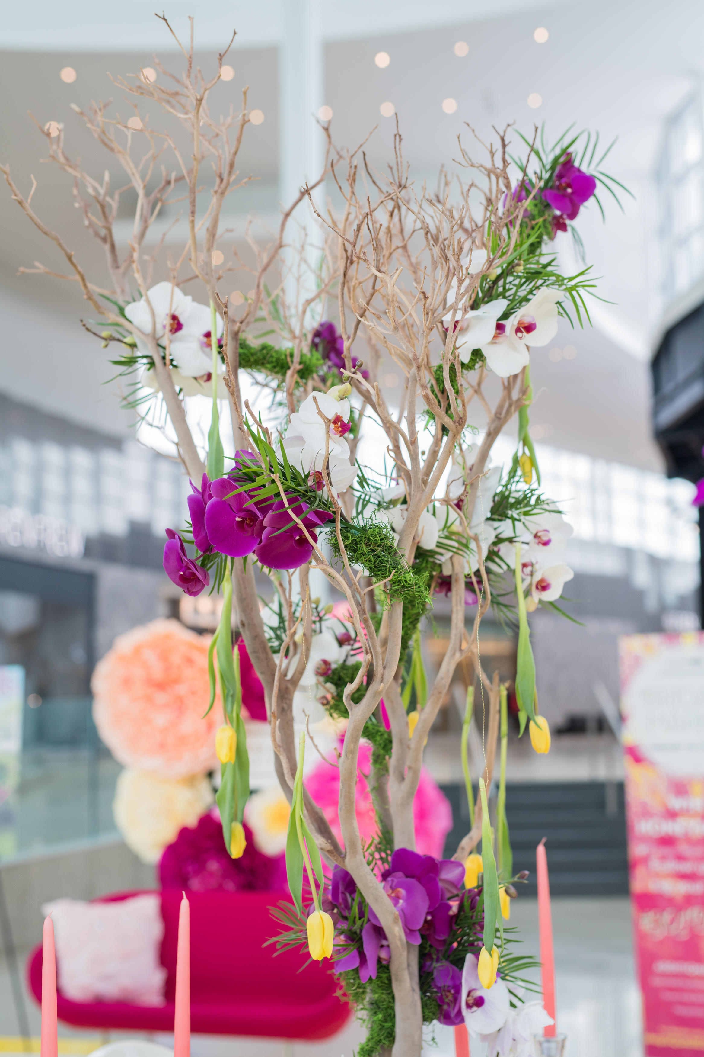 August In Bloom - Orchids - #SQ1Bridal (Square One Shopping Centre)