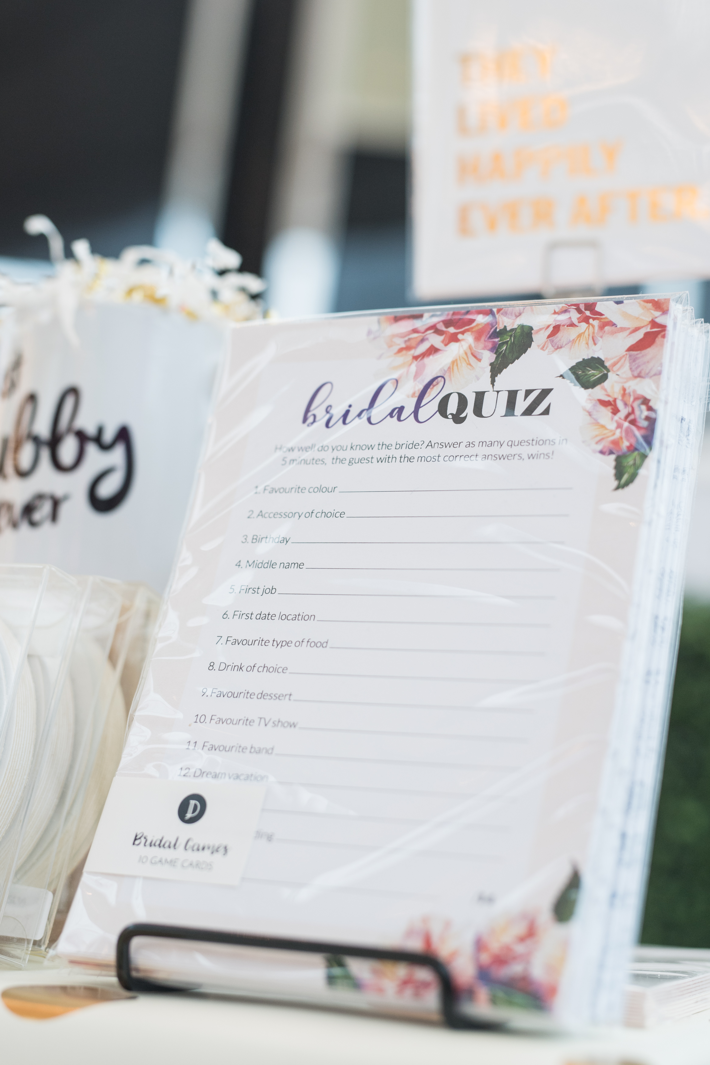 August In Bloom - Wedding stationery - #SQ1Bridal (Square One Shopping Centre)