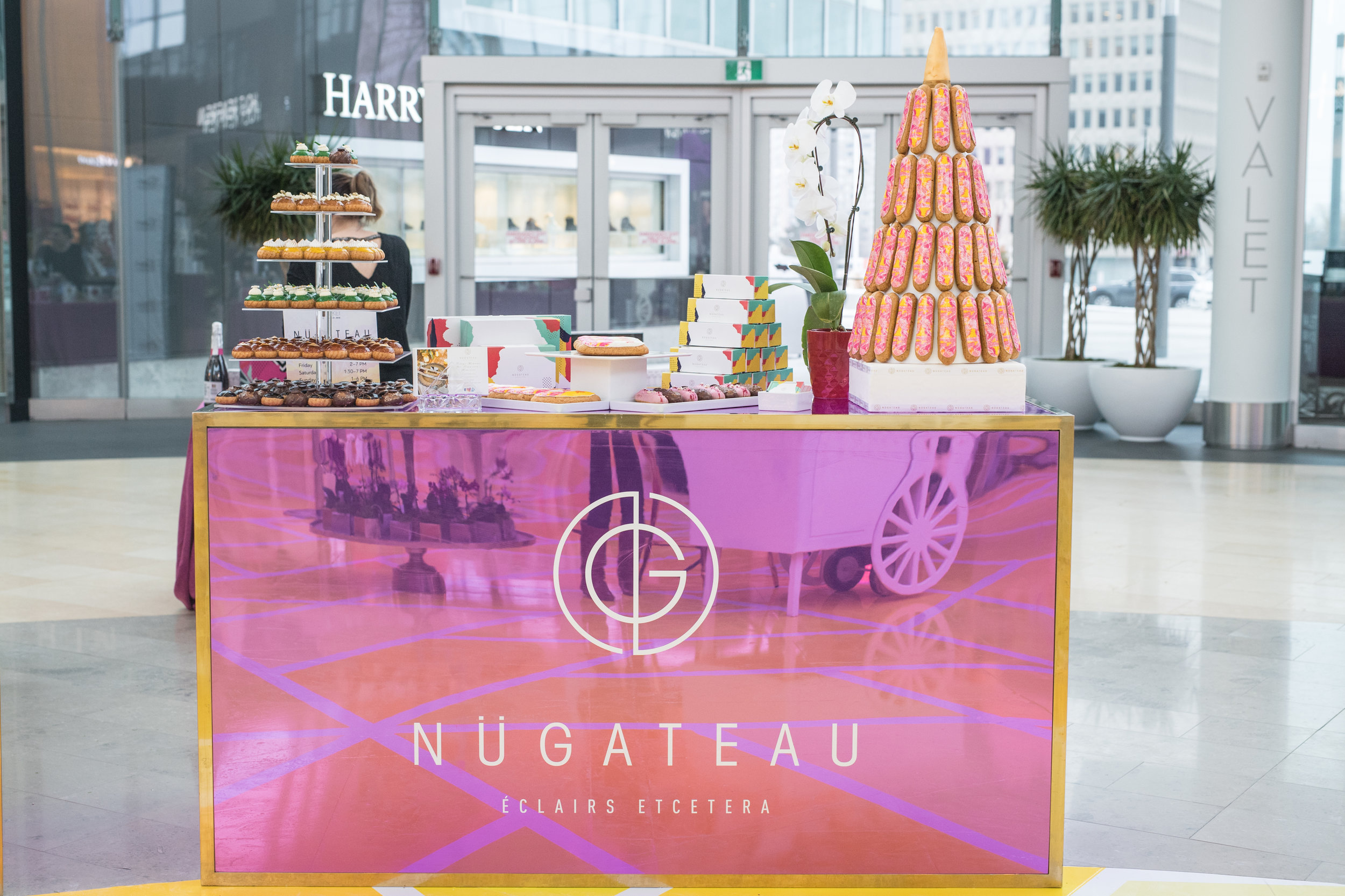 August In Bloom - Nugateau set up - #SQ1Bridal (Square One Shopping Centre)
