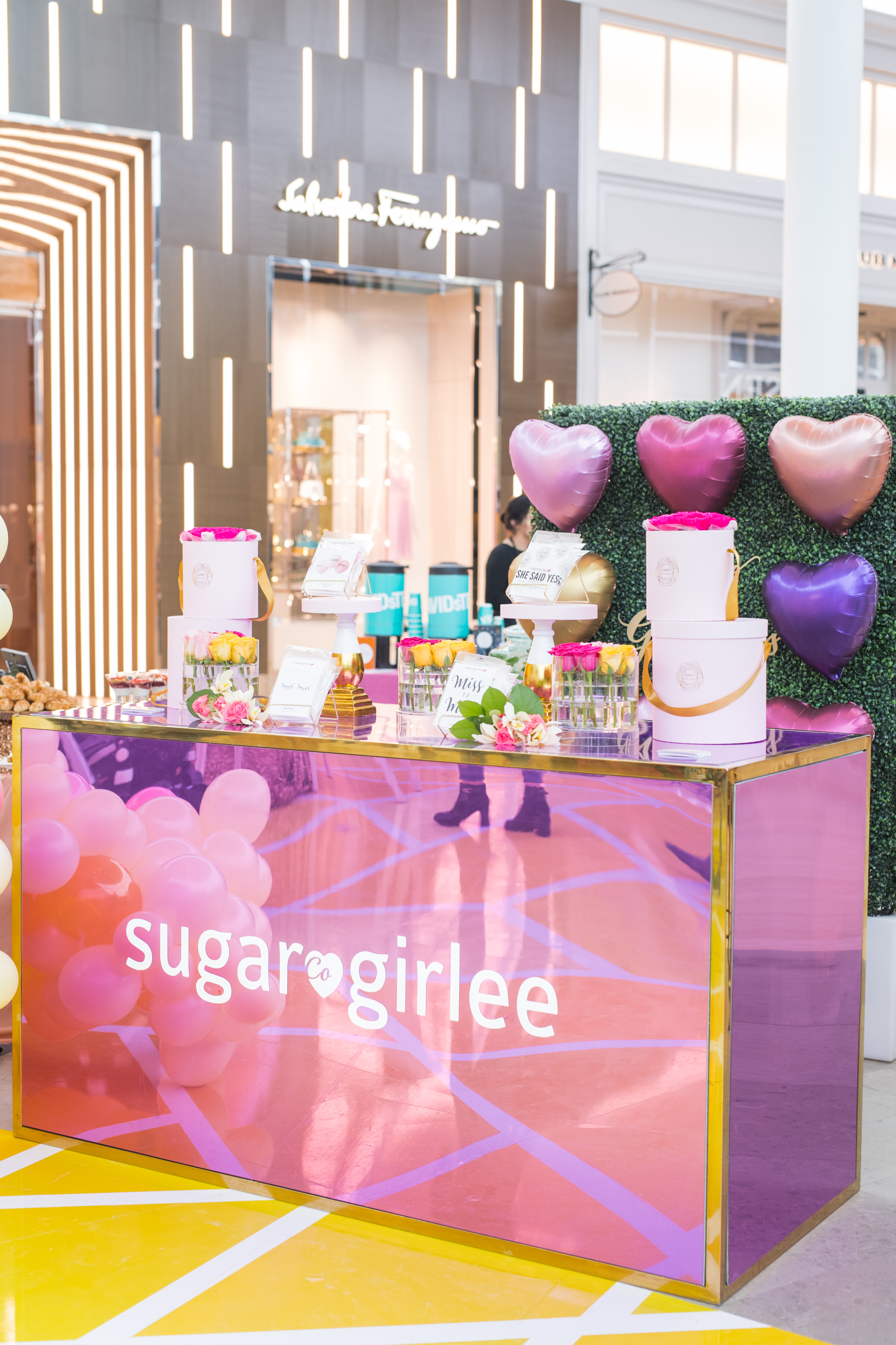 August In Bloom - Sugar Girlee set up - #SQ1Bridal (Square One Shopping Centre)