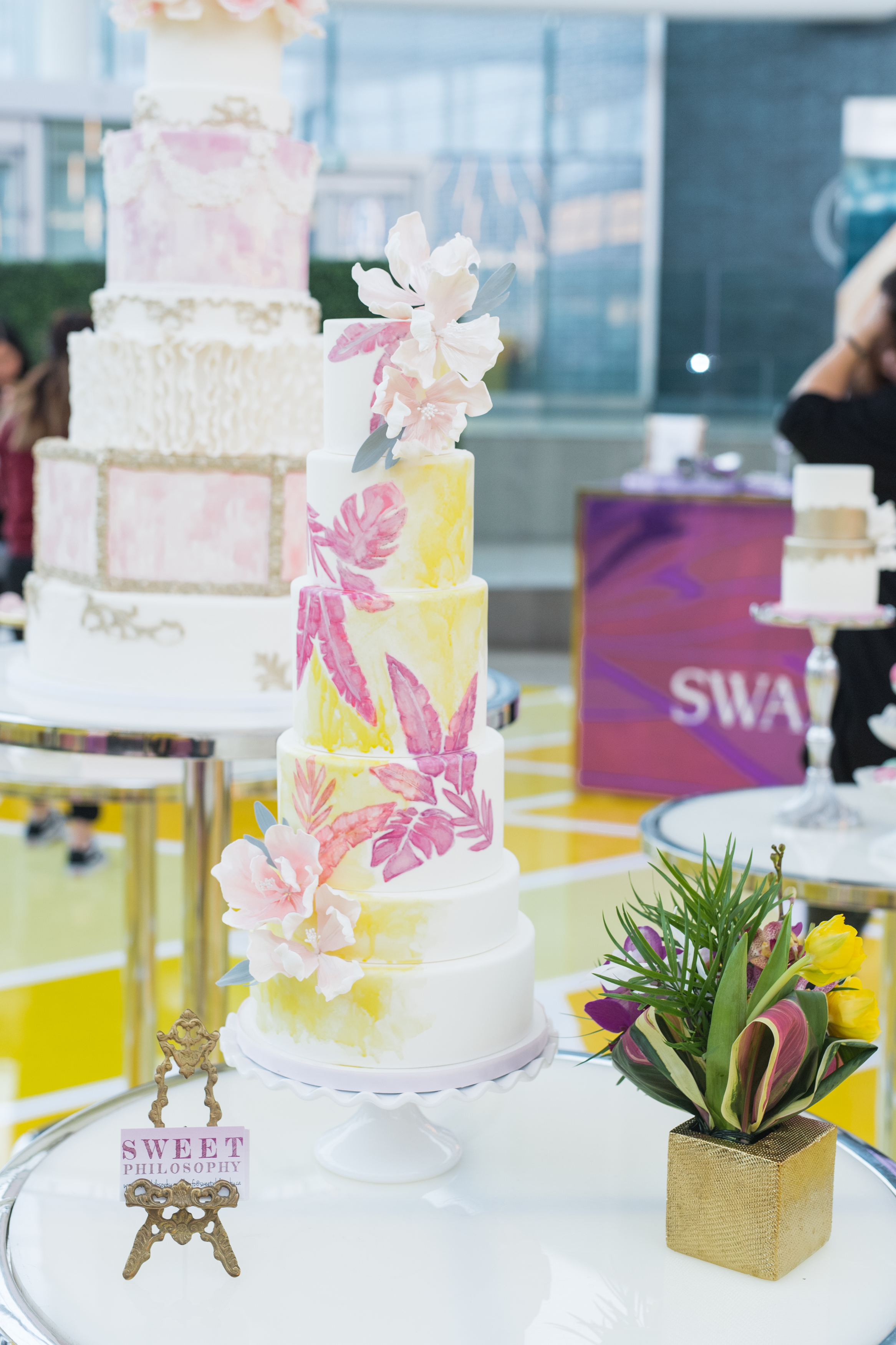 August In Bloom - Sweet Philosophy cakes - #SQ1Bridal (Square One Shopping Centre)