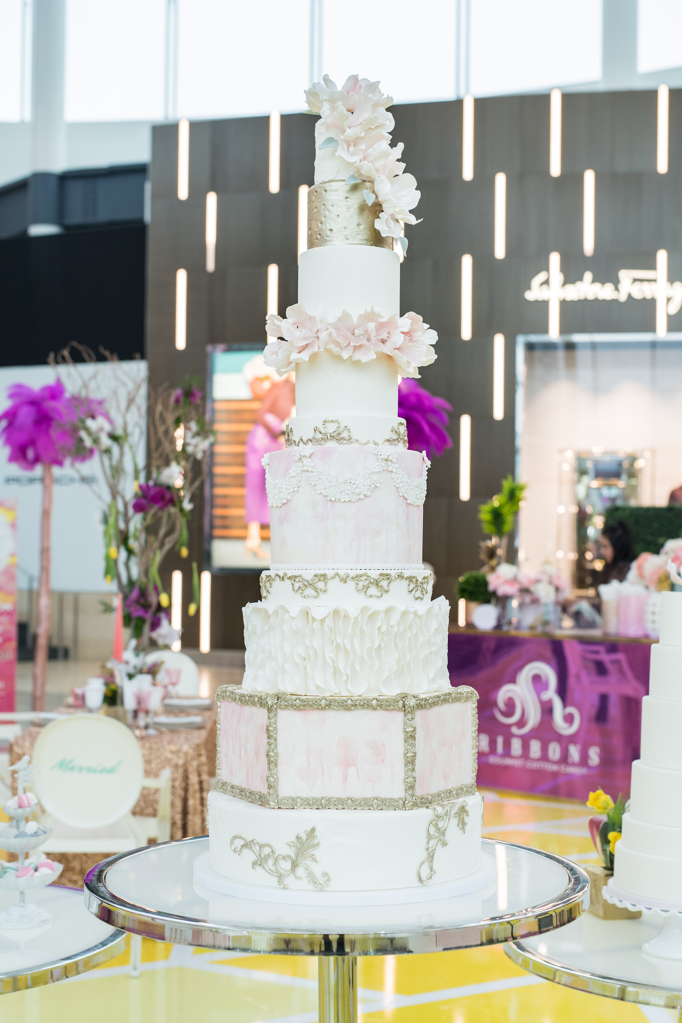 August In Bloom - Sweet Philosophy cake - #SQ1Bridal (Square One Shopping Centre)