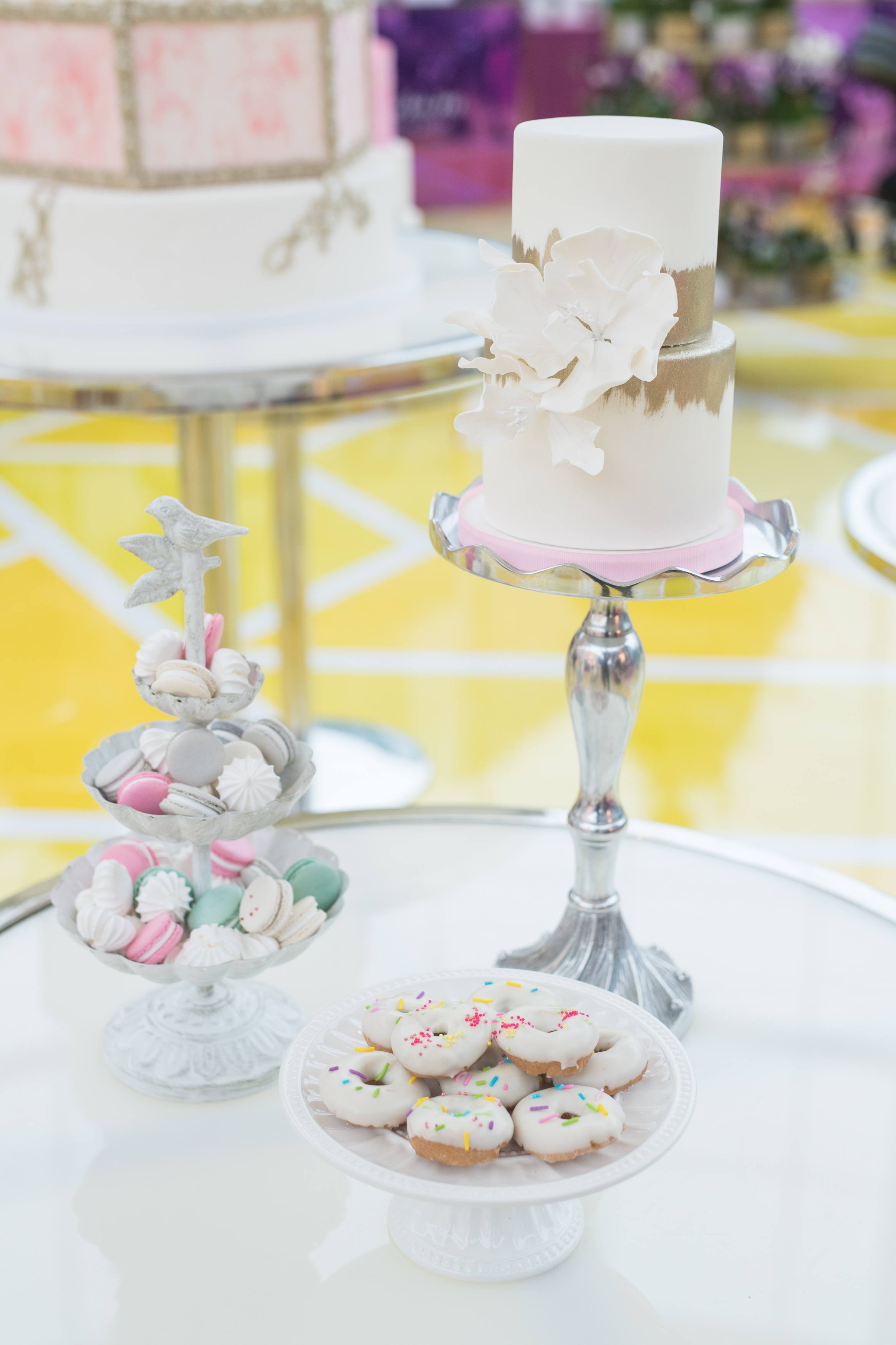 August In Bloom - Sweet table - #SQ1Bridal (Square One Shopping Centre)