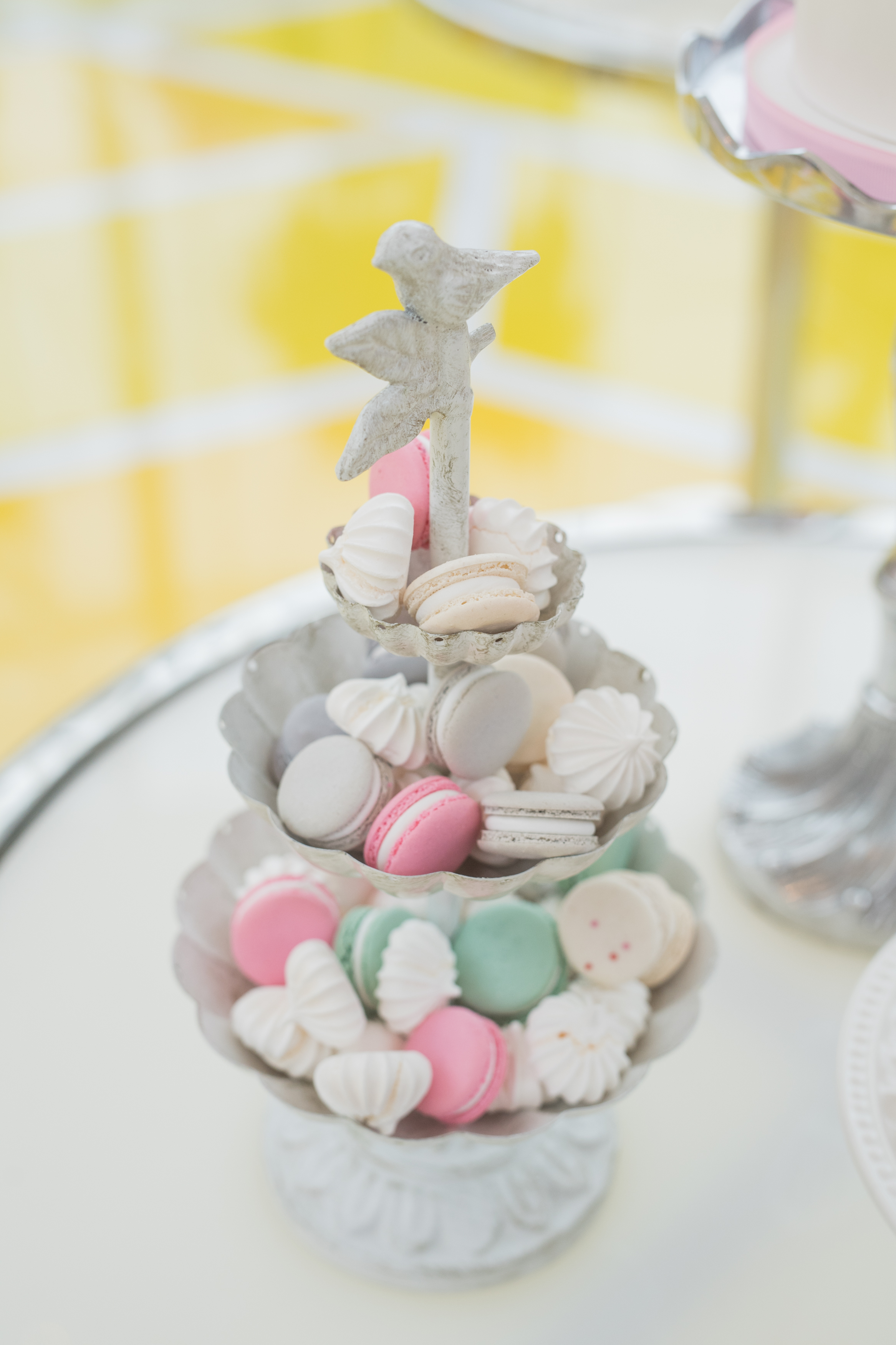 August In Bloom - Macaron tray - #SQ1Bridal (Square One Shopping Centre)