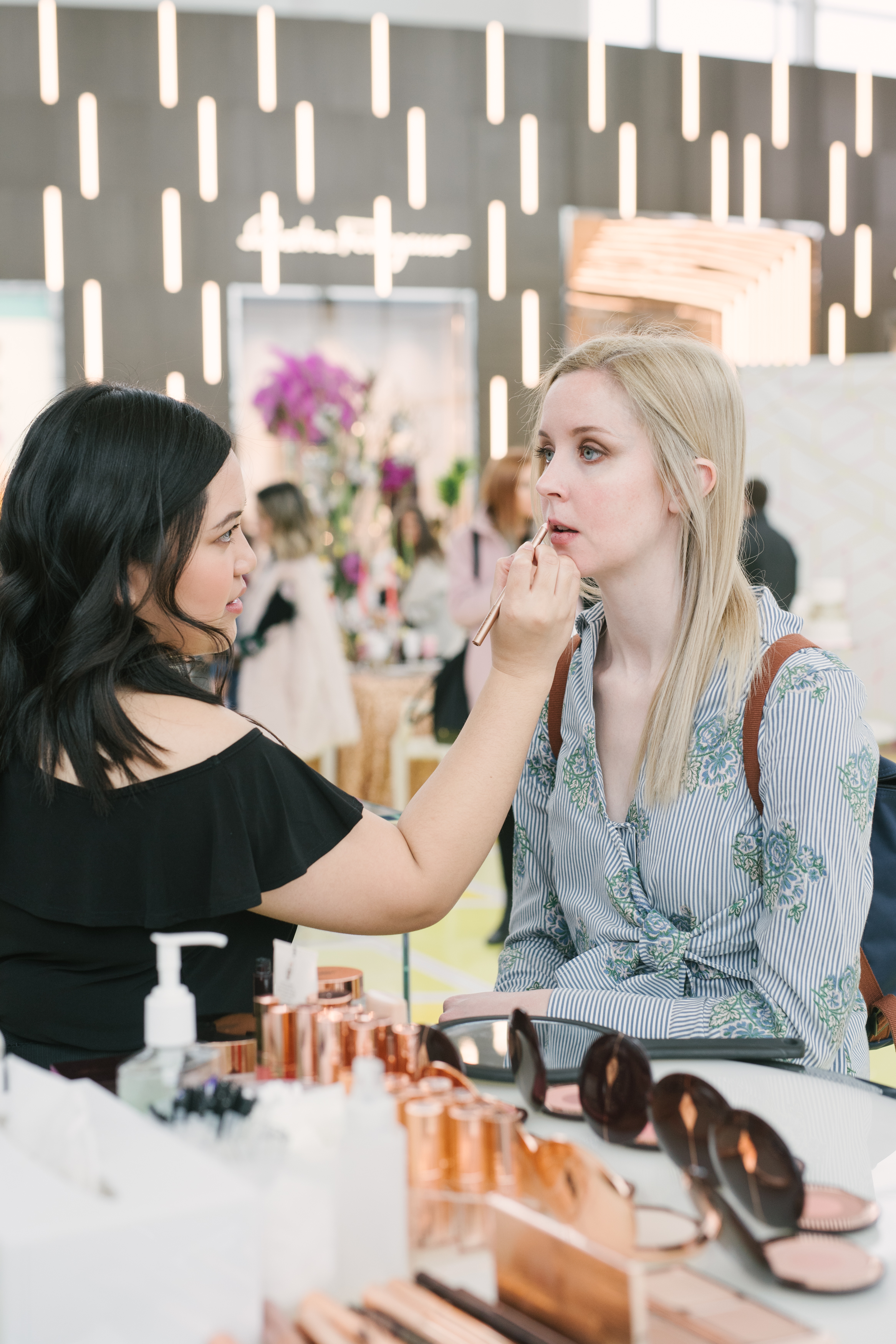 August In Bloom - Makeup station - #SQ1Bridal (Square One Shopping Centre)
