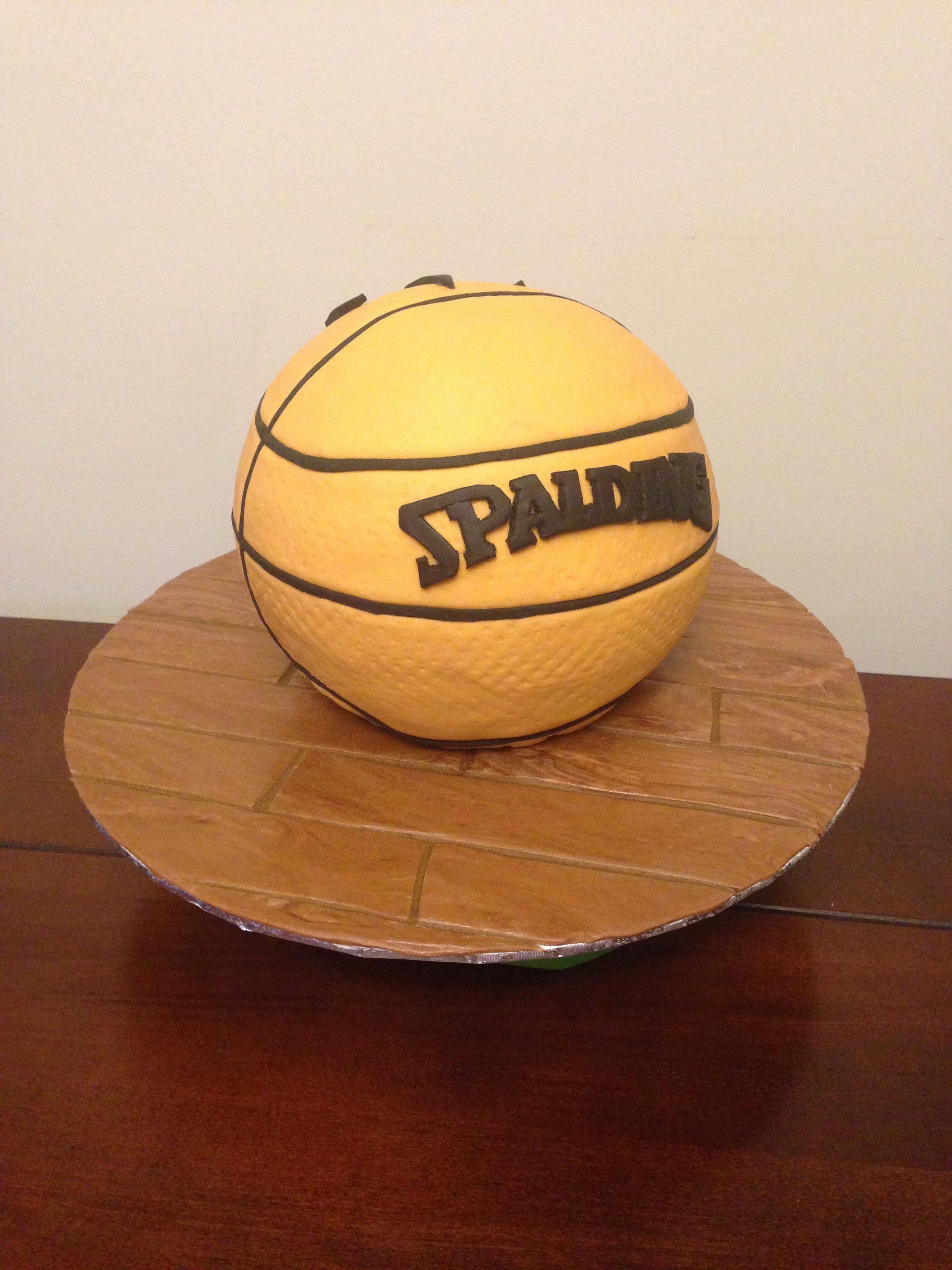 Toronto Raptors Basketball Cake