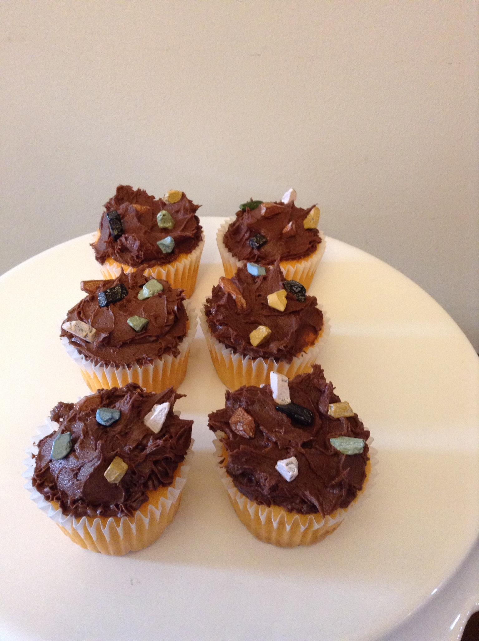 Tough Mudder Cupcakes