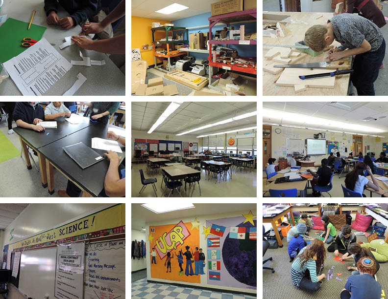I observed a diverse classroom environments in Providence, RI and interviewed various teachers and students.