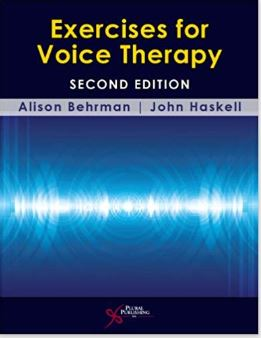 Click Picture to Order Exercises for Voice Therapy with my Amazon Affiliate Link