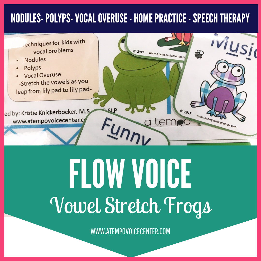 Stretch your vowels and flow with Frogs and leaping!