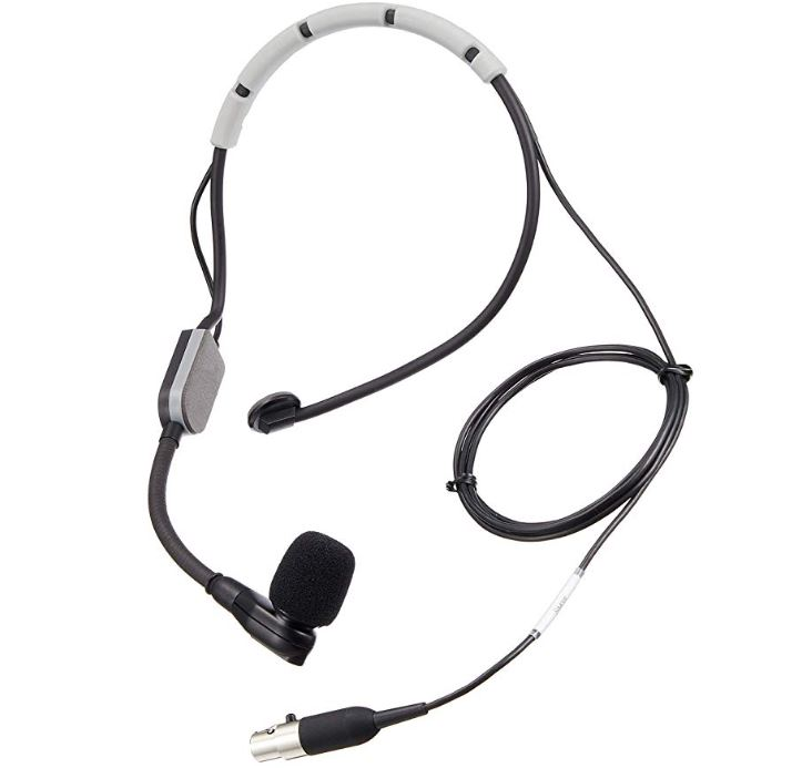 Click Picture to order this Shure Condenser Headset Mic with my Amazon Affiliate Link