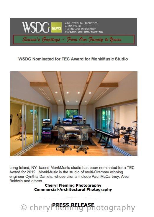 WSDG PRESS RELEASE