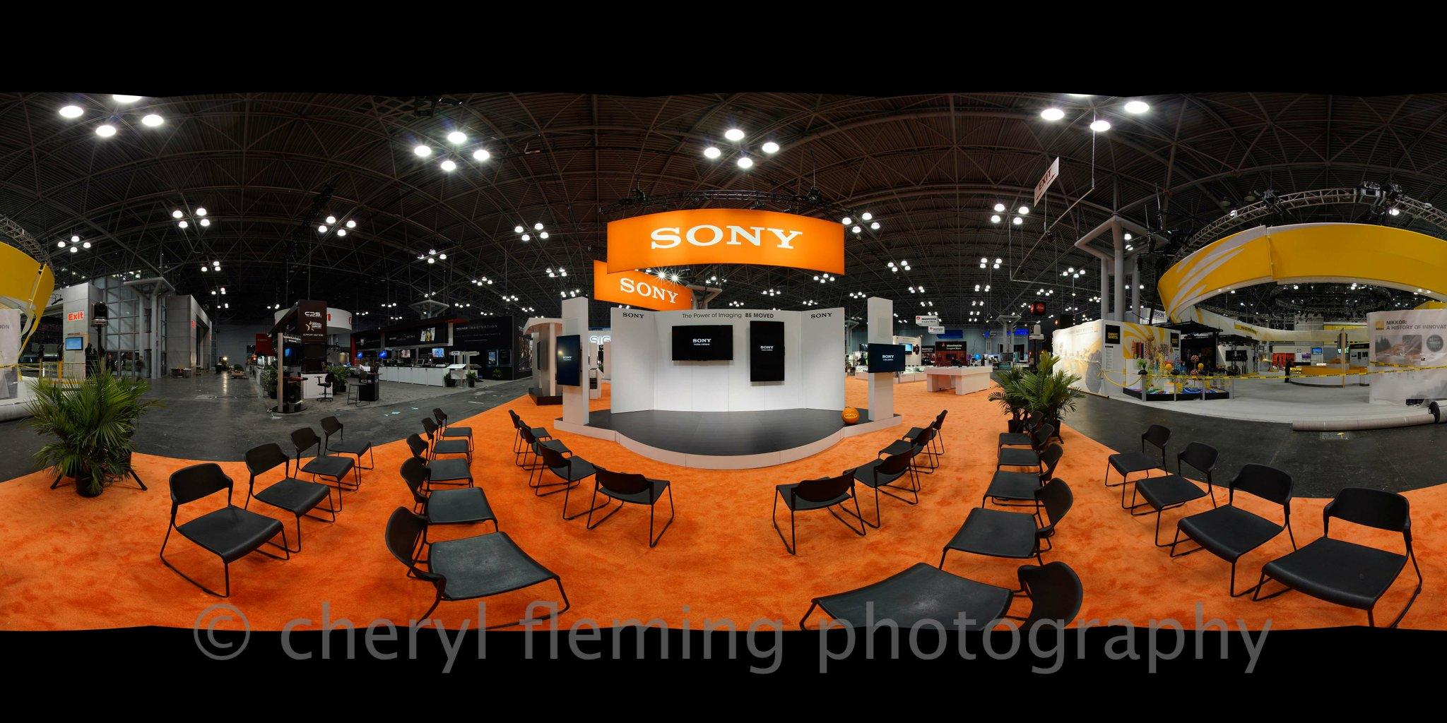 Sony Booth- Photo Expo