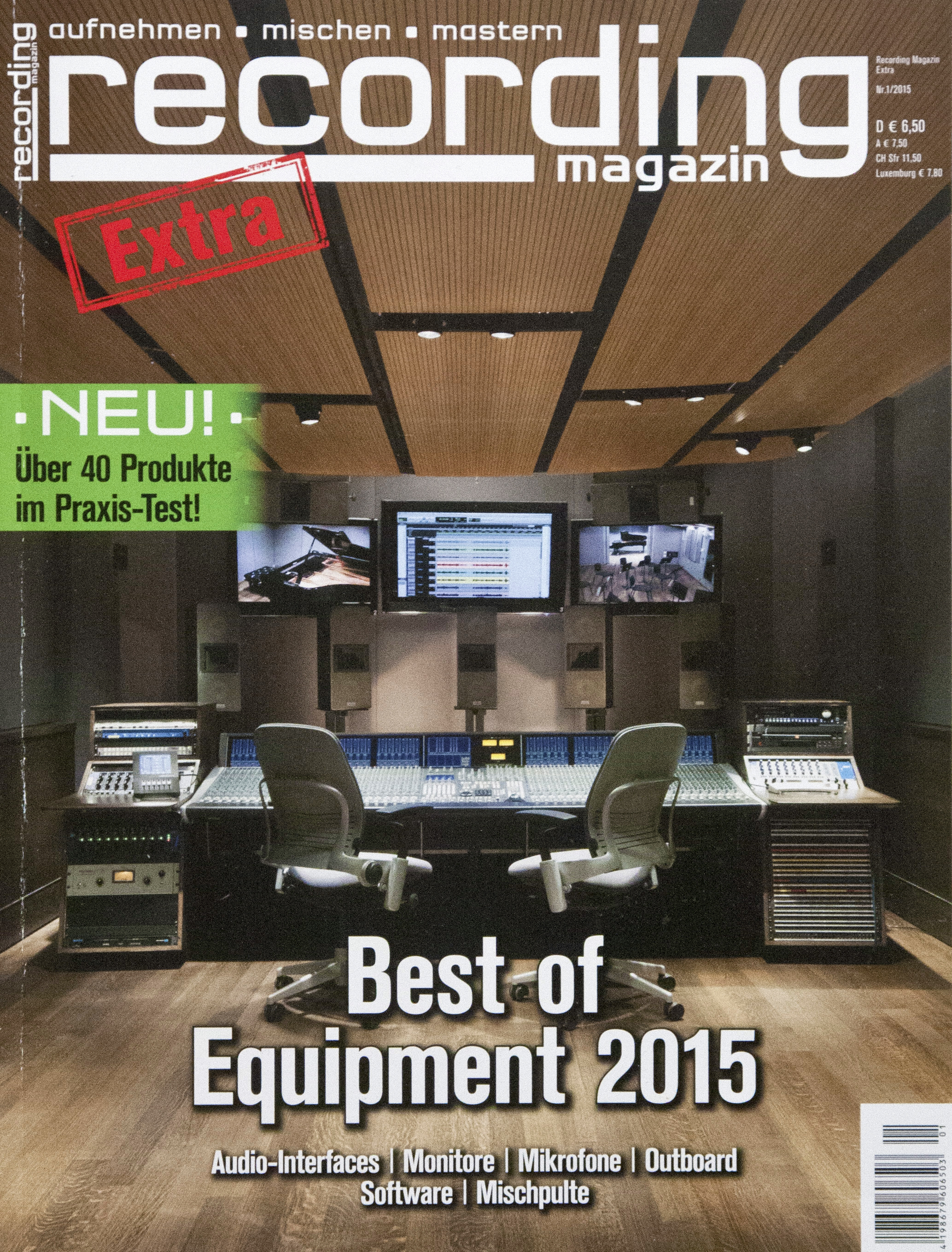 Recording Magazine- Fall 2015