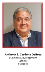 Anthony S. Cardona DeRosa, Business Development Officer, PRIDCO