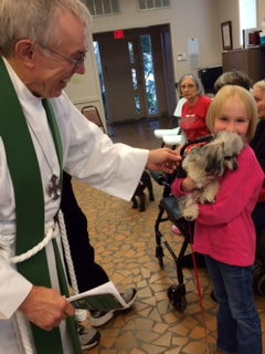 The Blessing of the Animals    on October 4, 2014