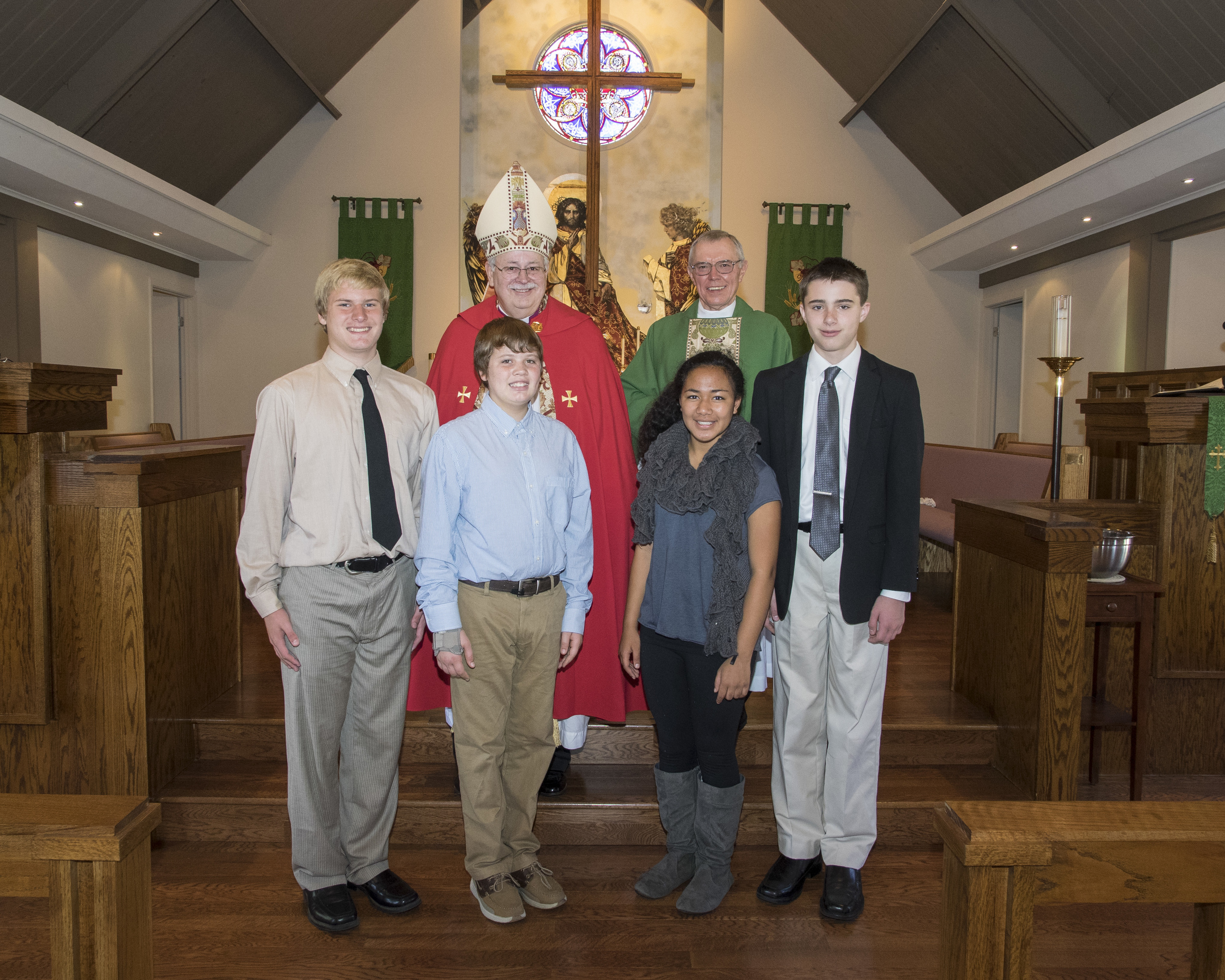 The Confirmation Class of November 2014