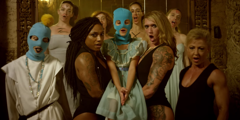 Straight Outta Vagina  by Pussy Riot.Color by Alex Chernoff