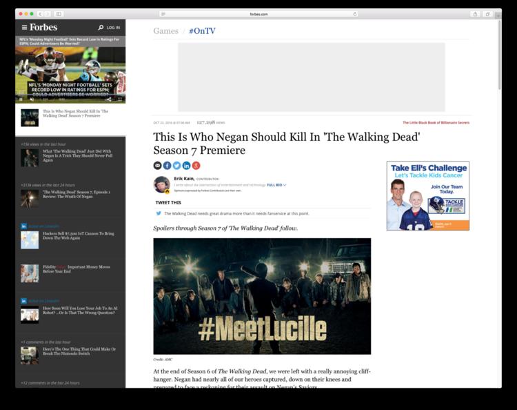 THE WALKING DEAD // #MeetLucille — A&C