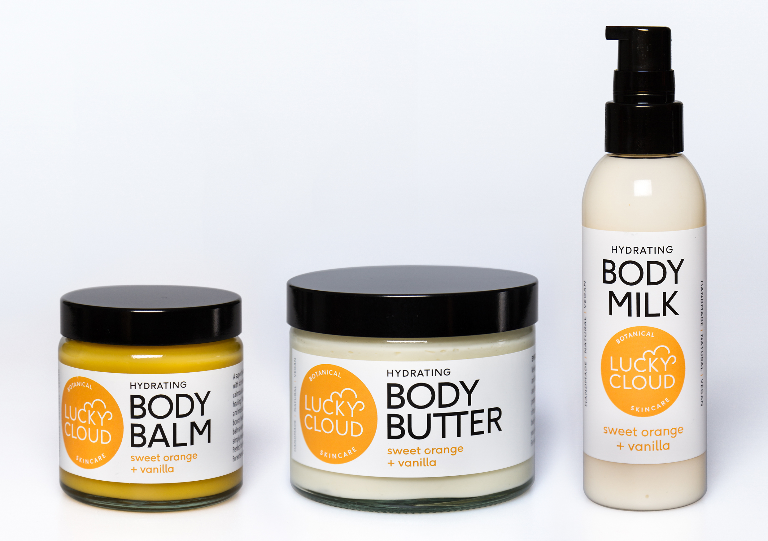 Sweet Orange & Vanilla Body Care - infused with Calendual Oil & Extract