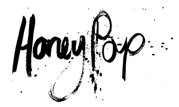 Honey Pop Kisses Logo