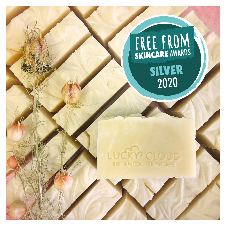 Lucky Cloud Skincare Lemongrass Soap FFSA Silver.jpg