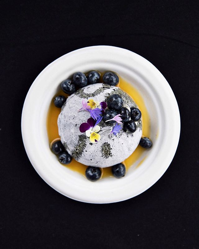 Charcoal pavlova, passion fruit, lemon myrtle, and Hood River blueberries @proudmaryusa ✨ I had every intention of returning to eat this beautiful dish after I finished photographing @feastportland Brunch Village. I was off to the next event in a flash, but a picture is worth a thousand bites, no? ✨ ⠀⠀⠀⠀⠀⠀⠀⠀⠀ ⠀⠀⠀⠀⠀⠀⠀⠀⠀ ⠀⠀⠀⠀⠀⠀⠀⠀⠀ ⠀⠀⠀⠀⠀⠀⠀⠀⠀ #feastpdx #thesugarfiles #pdxeats #portland #pdx #eaterpdx #fwx #eattheworld #f52grams #bareaders #foodandwine #lifeandthyme #mycommontable #foodgram #zagat #inseasonnow #gloobyfood #tastespotting #thekitchn #makeitdelicious #huffposttaste #tastingtable #eeeeeats #theartofslowliving #feedfeed #chasinglight #onthetable #foodphotography #vscofood #vscocam