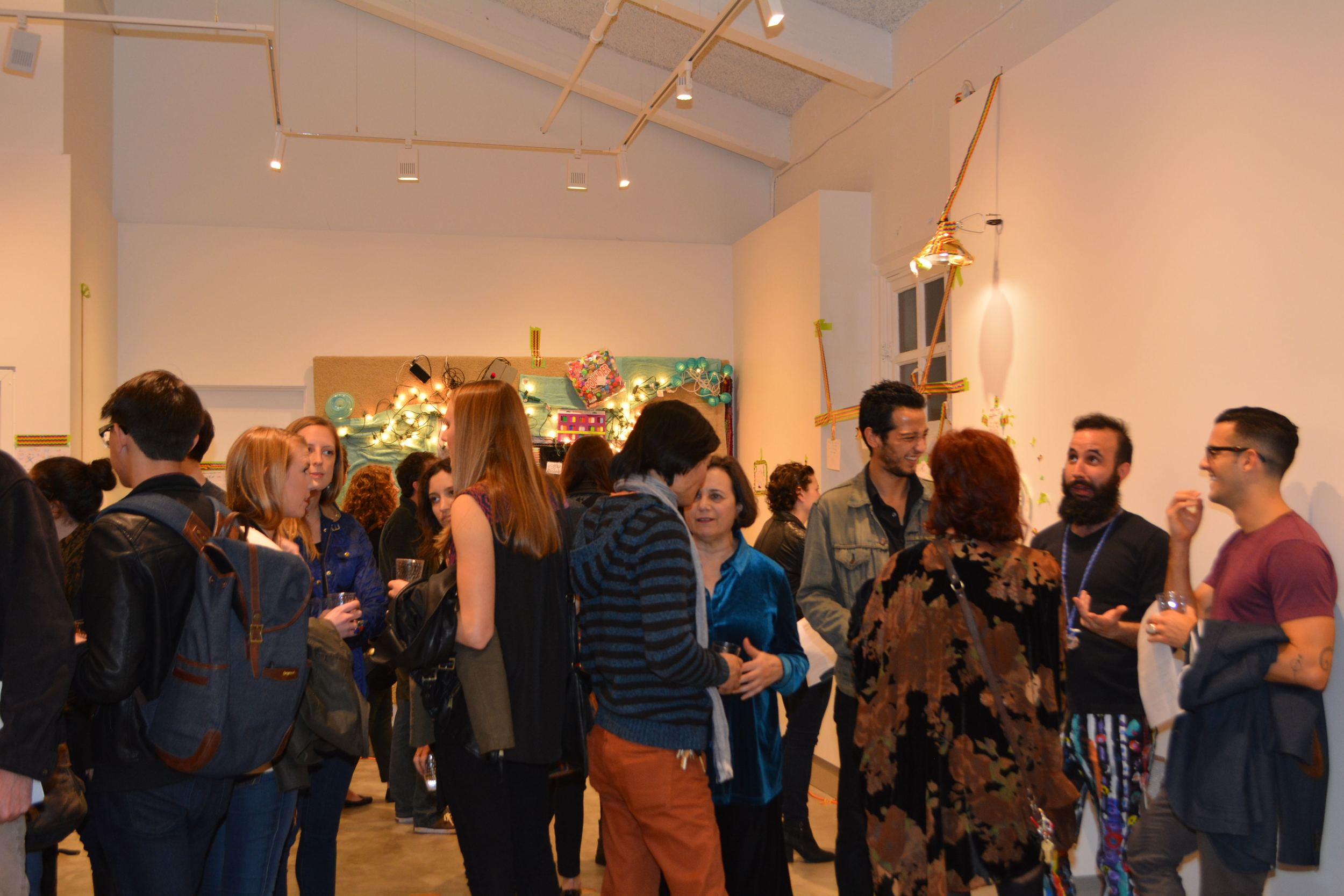 A great turnout for our inaugural exhibition.