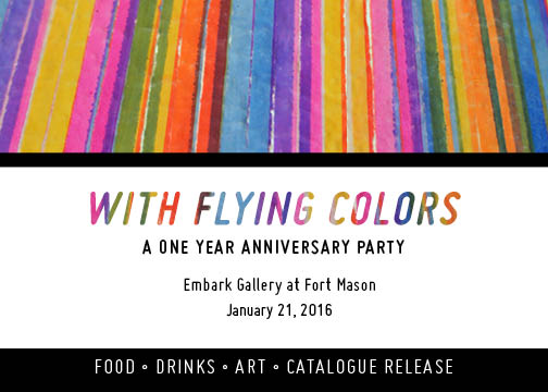 1 Year Anniversary: With Flying Colors   01.21.16